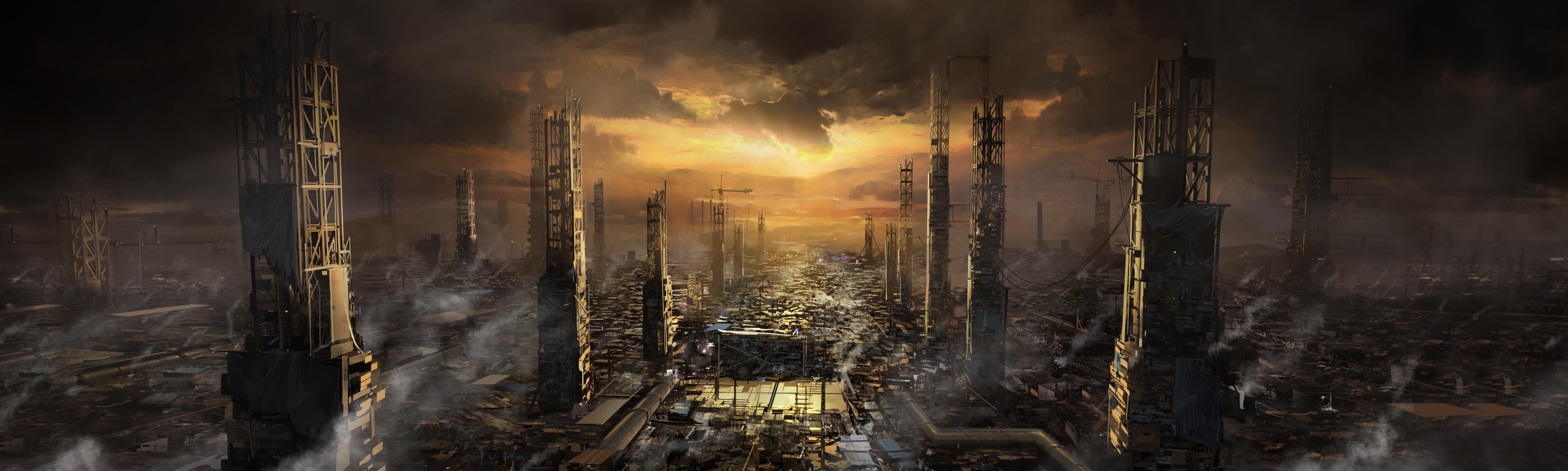 Množství obrazových materiálů z Deus Ex: Mankind Divided 111608
