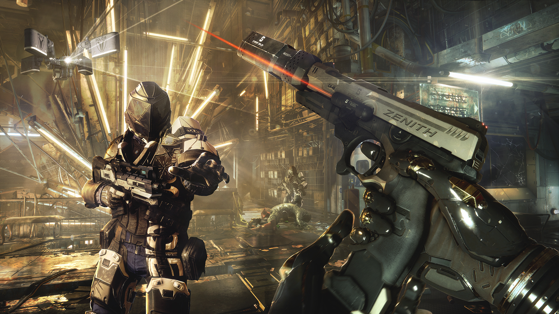 Množství obrazových materiálů z Deus Ex: Mankind Divided 111609