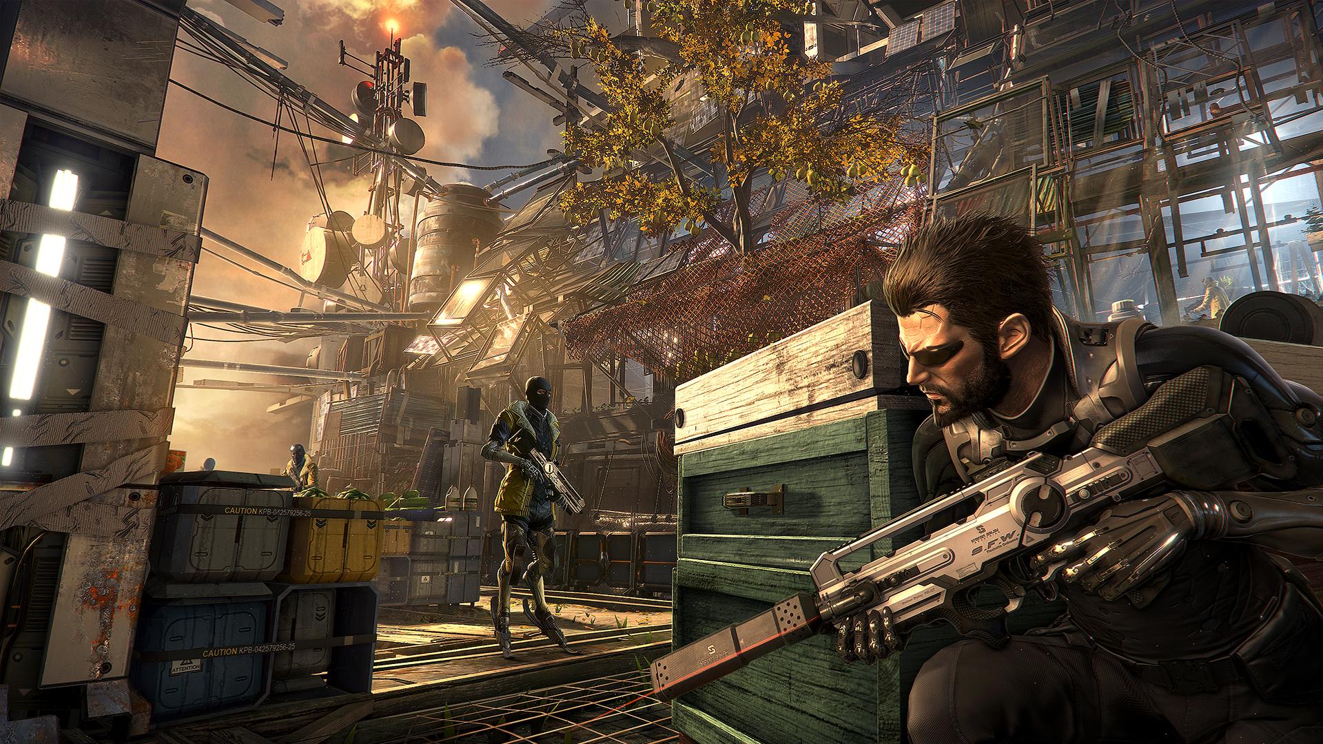 Množství obrazových materiálů z Deus Ex: Mankind Divided 111610