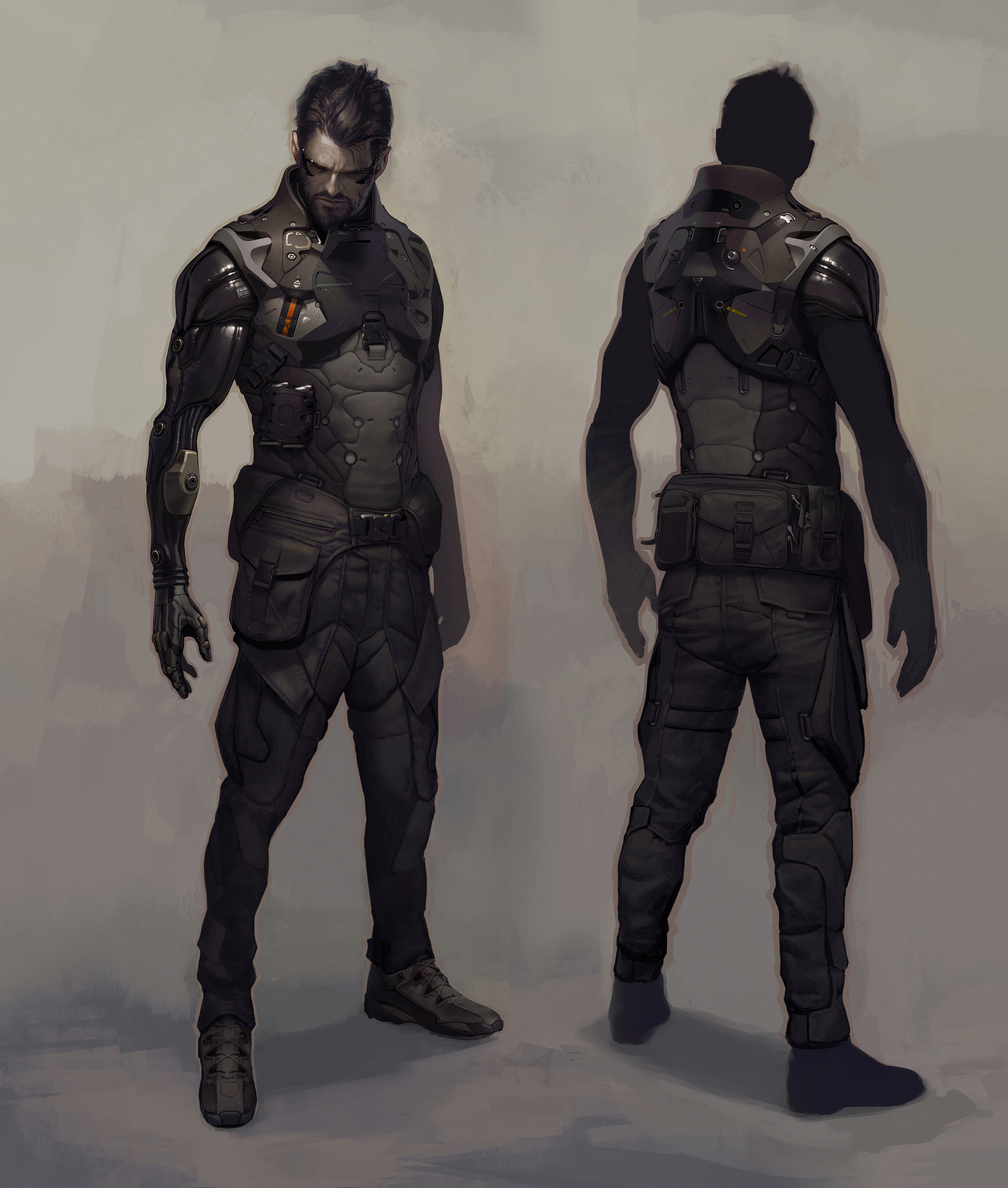 Množství obrazových materiálů z Deus Ex: Mankind Divided 111611