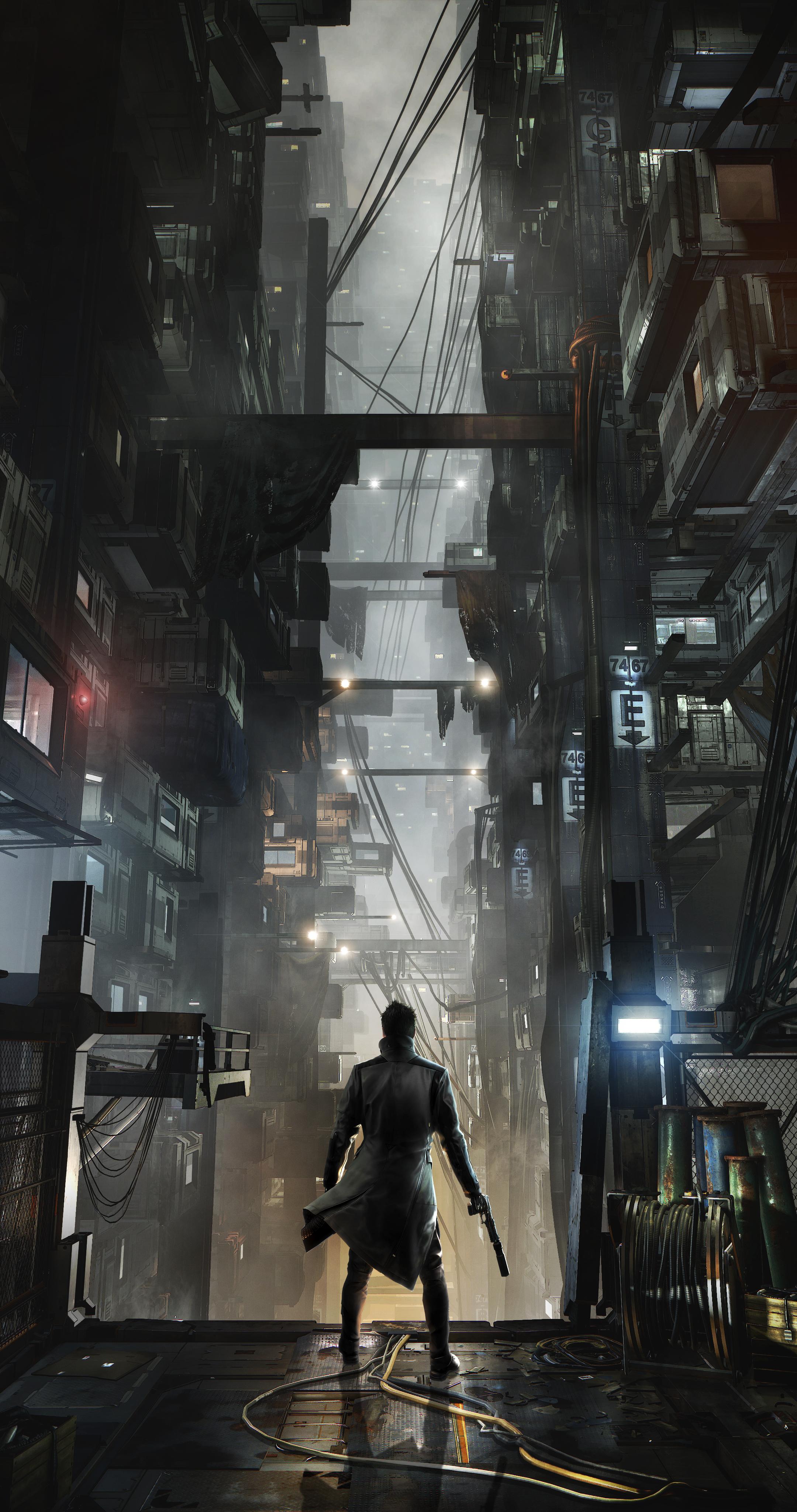 Množství obrazových materiálů z Deus Ex: Mankind Divided 111612