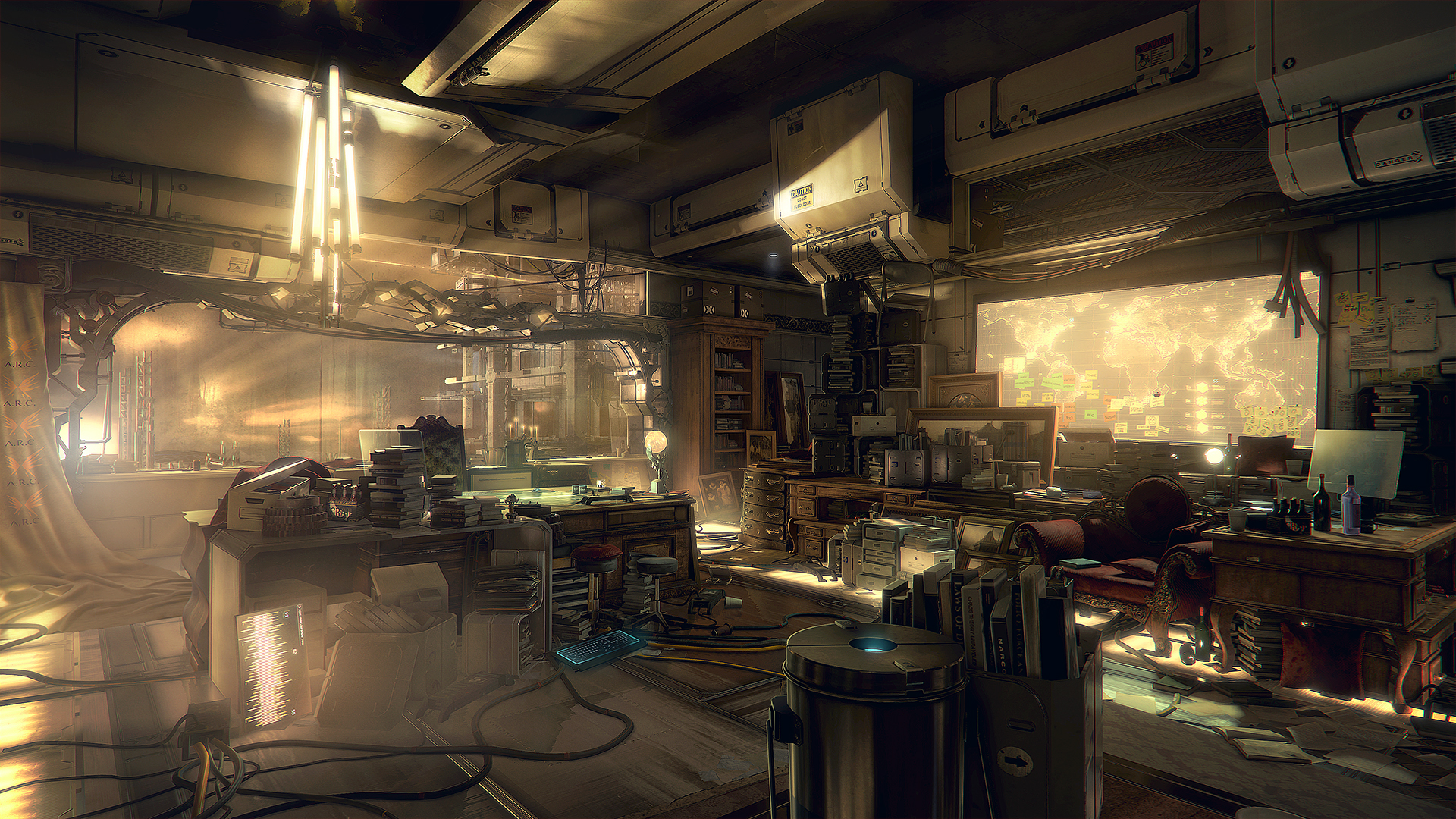 Množství obrazových materiálů z Deus Ex: Mankind Divided 111616