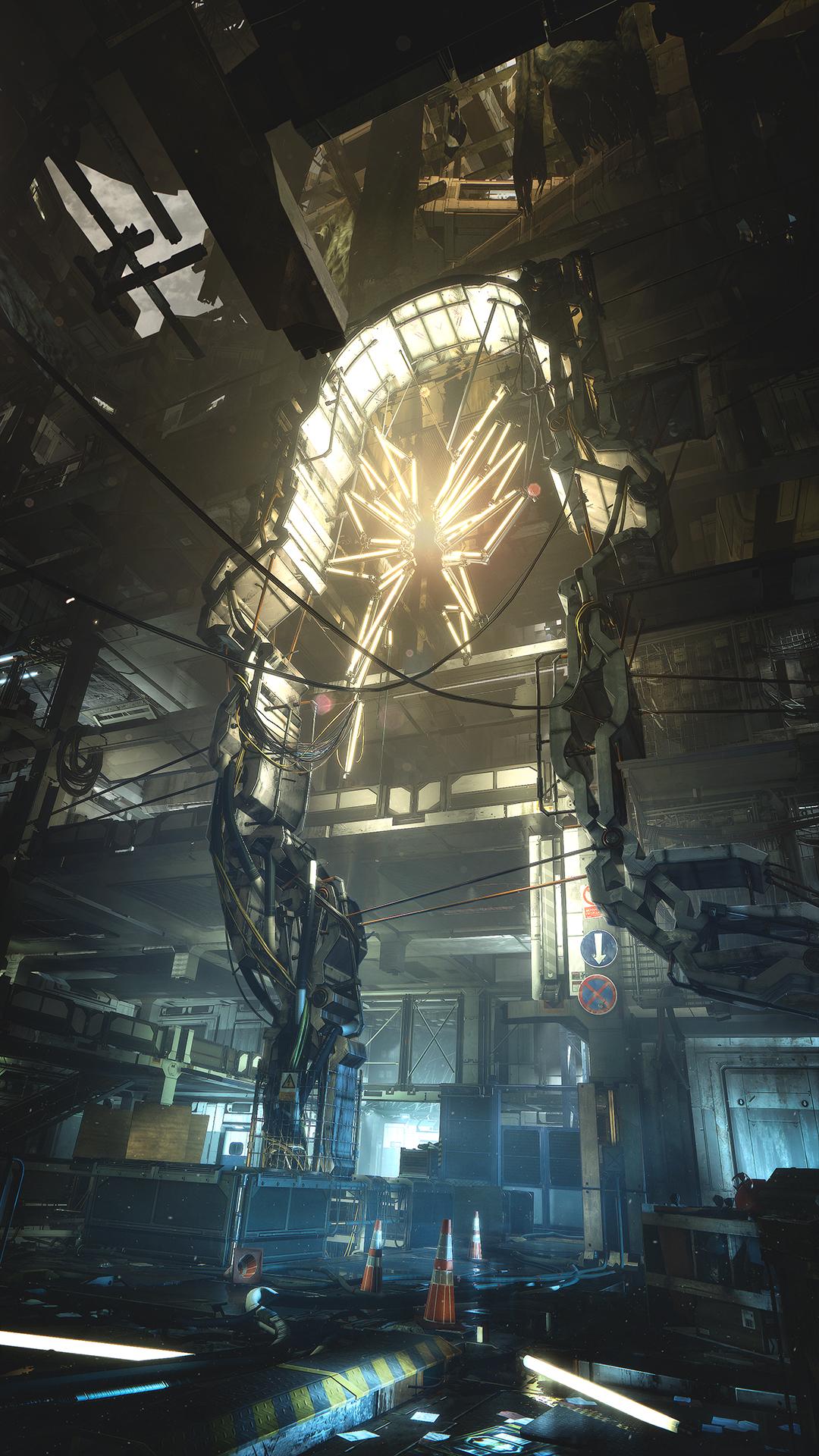 Množství obrazových materiálů z Deus Ex: Mankind Divided 111618