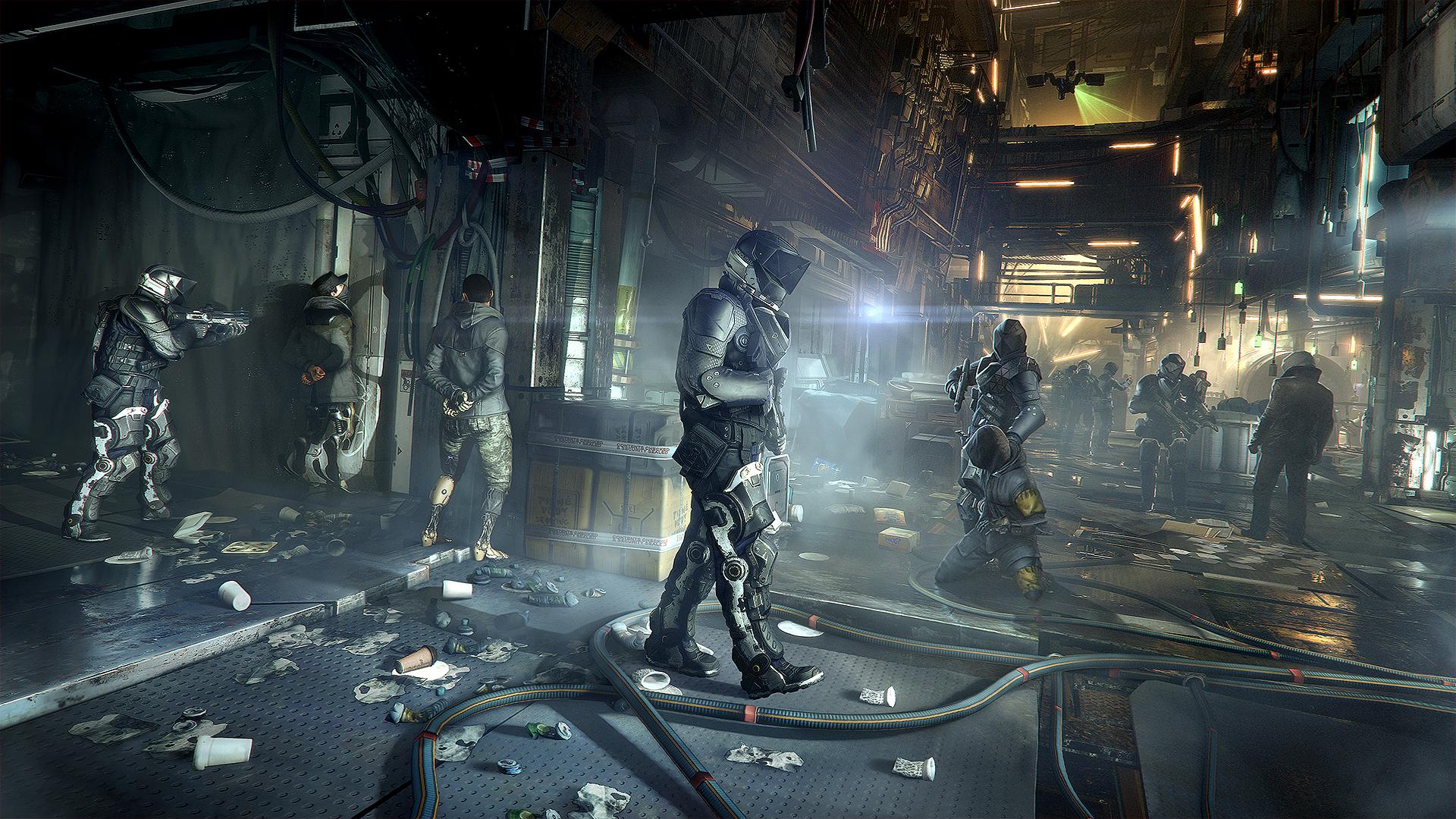 Množství obrazových materiálů z Deus Ex: Mankind Divided 111622