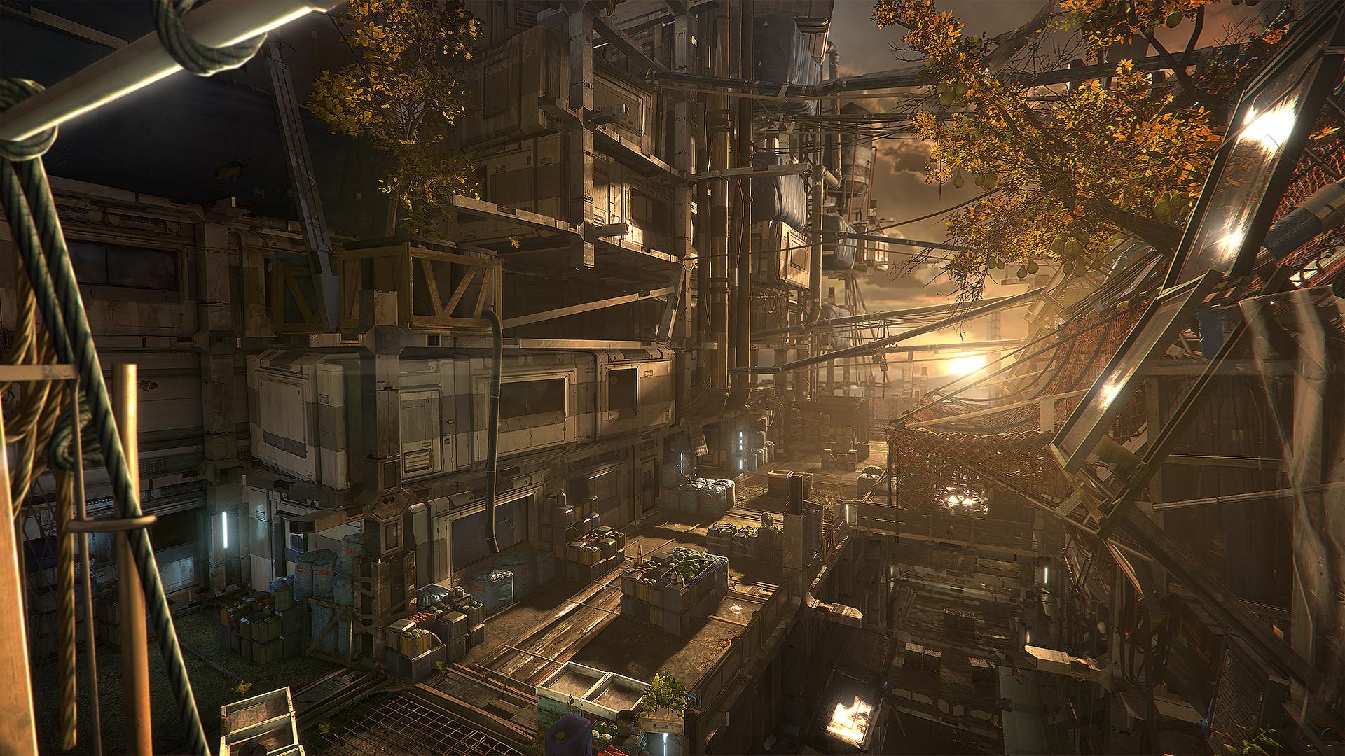 Množství obrazových materiálů z Deus Ex: Mankind Divided 111624
