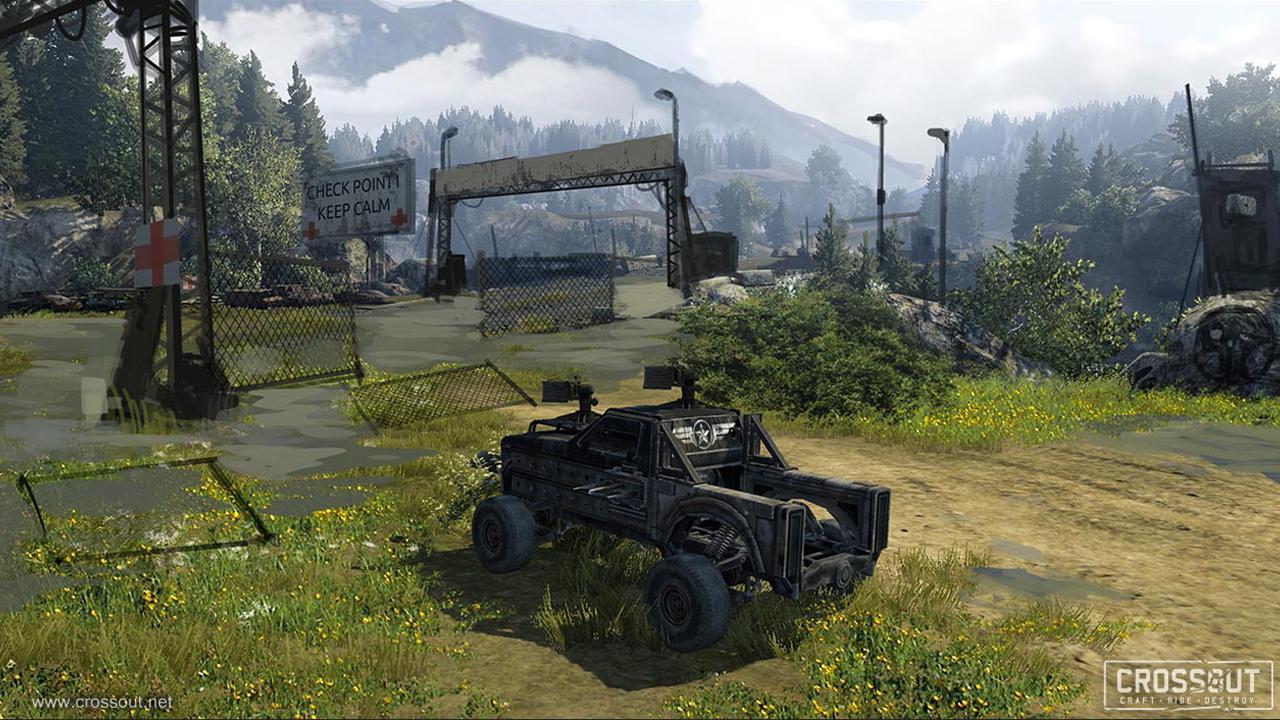Nové obrázky představují post-apokalyptický svět a příběh online akce s vozidly Crossout 111960