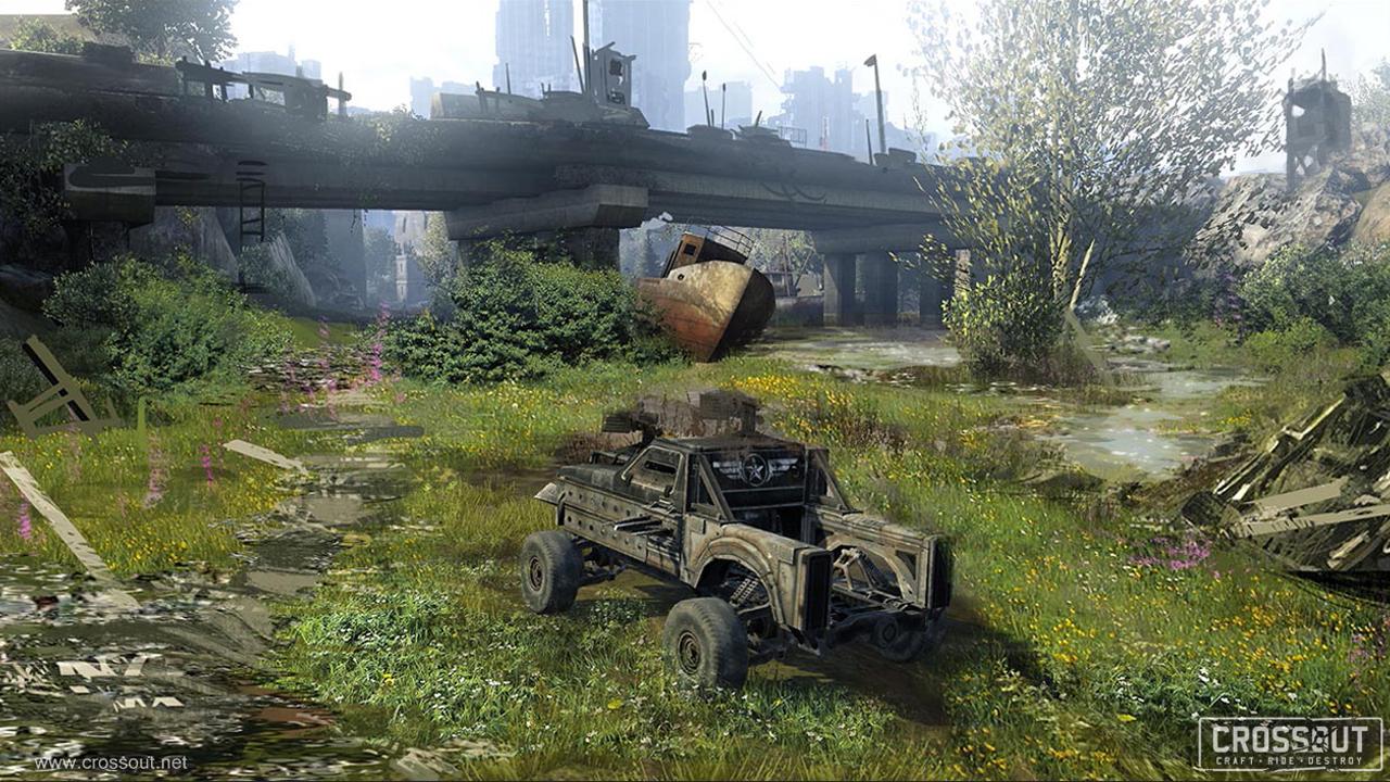 Nové obrázky představují post-apokalyptický svět a příběh online akce s vozidly Crossout 111961