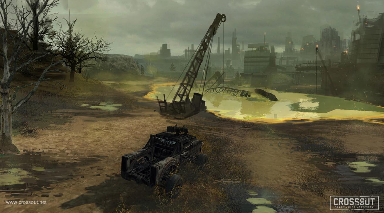 Nové obrázky představují post-apokalyptický svět a příběh online akce s vozidly Crossout 111962