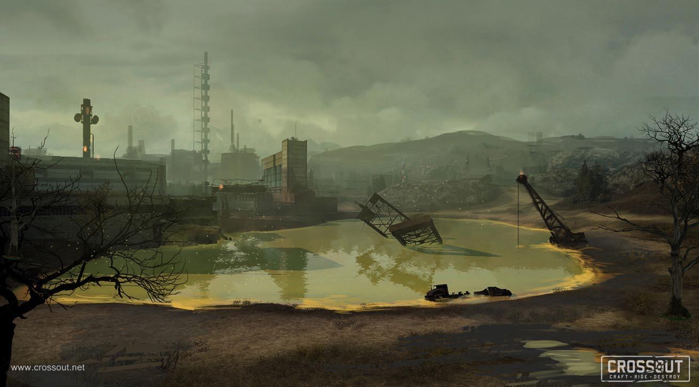 Nové obrázky představují post-apokalyptický svět a příběh online akce s vozidly Crossout 111964