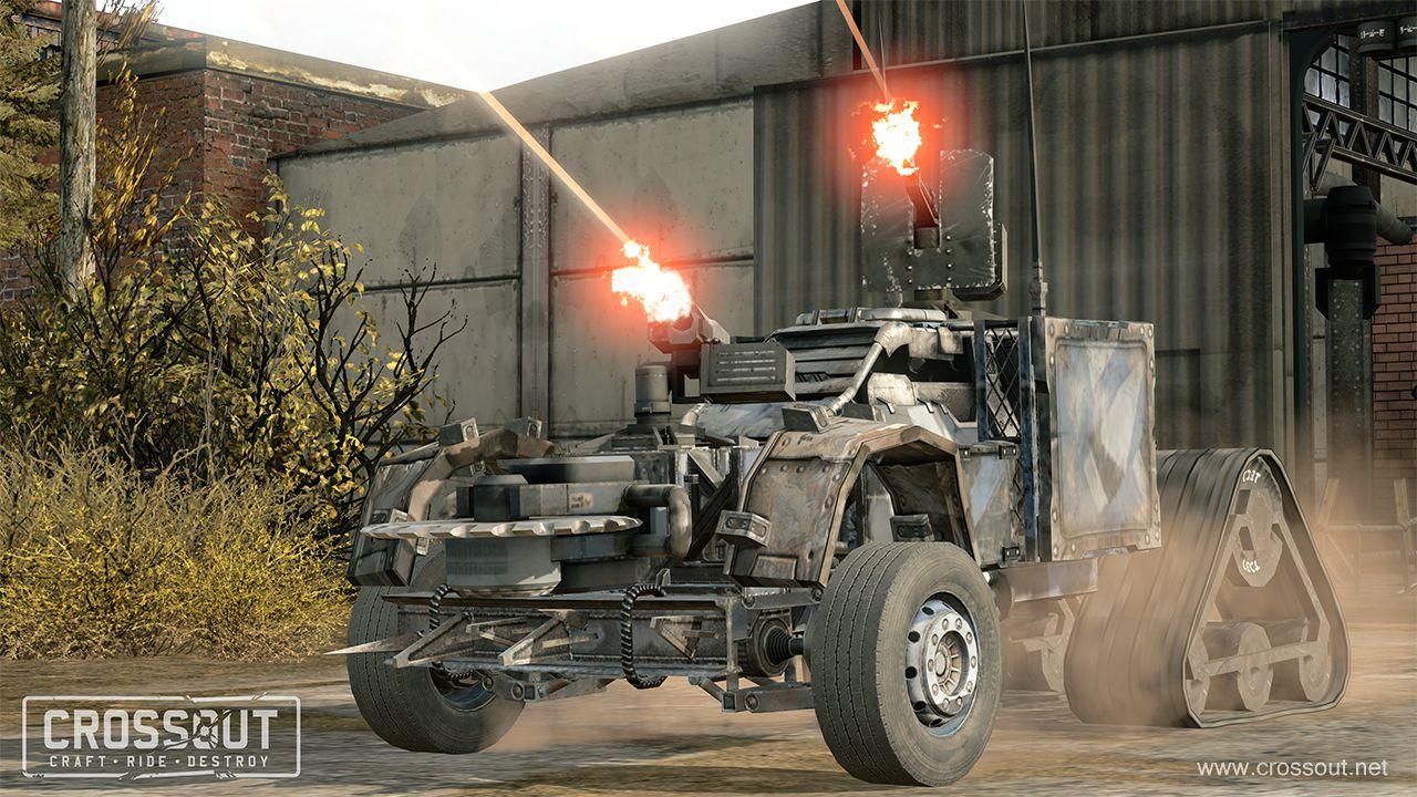 Nové obrázky představují post-apokalyptický svět a příběh online akce s vozidly Crossout 111973