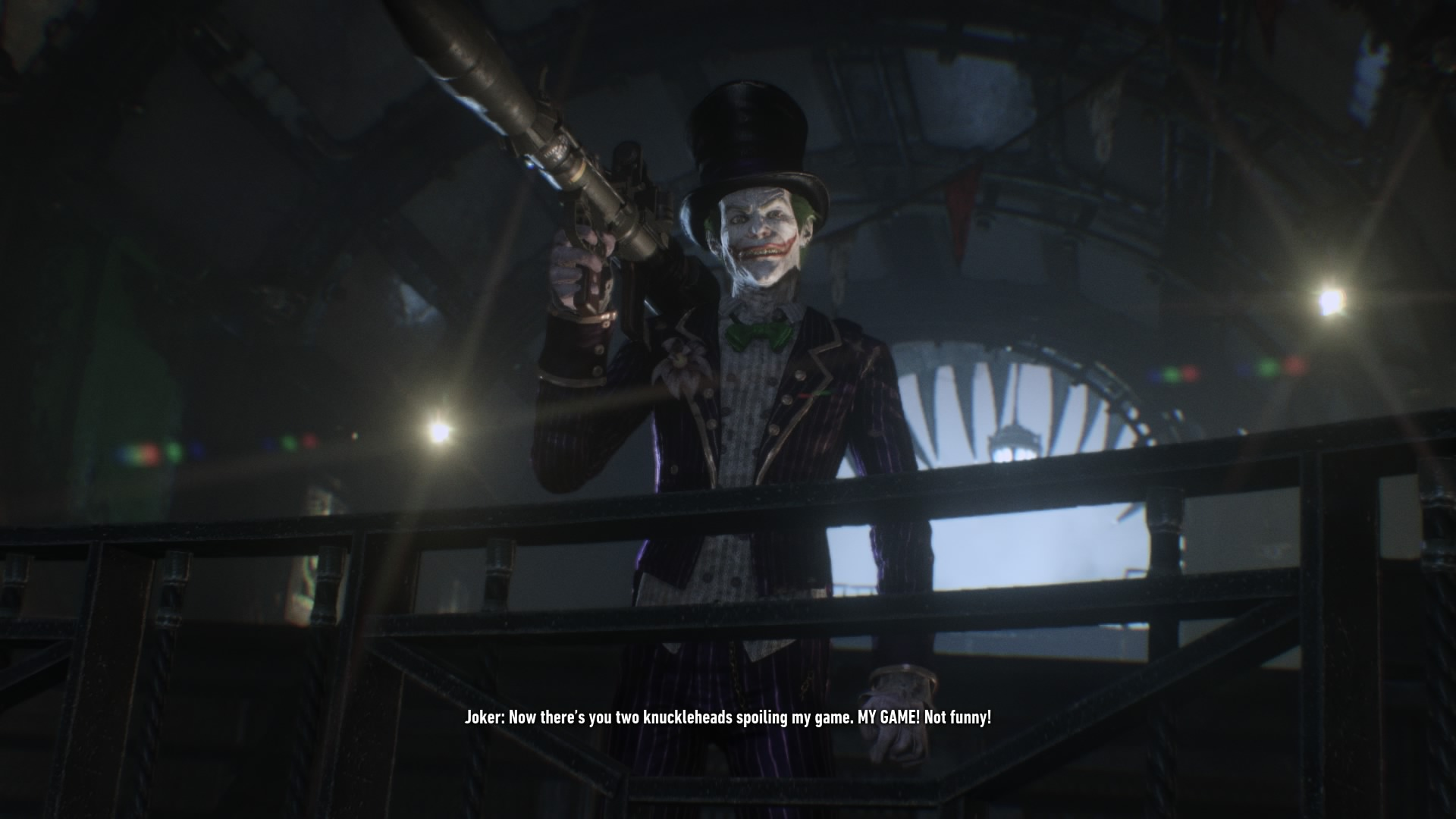 Batman: Arkham Knight - Batgirl je příliš krátký závod s časem 112003