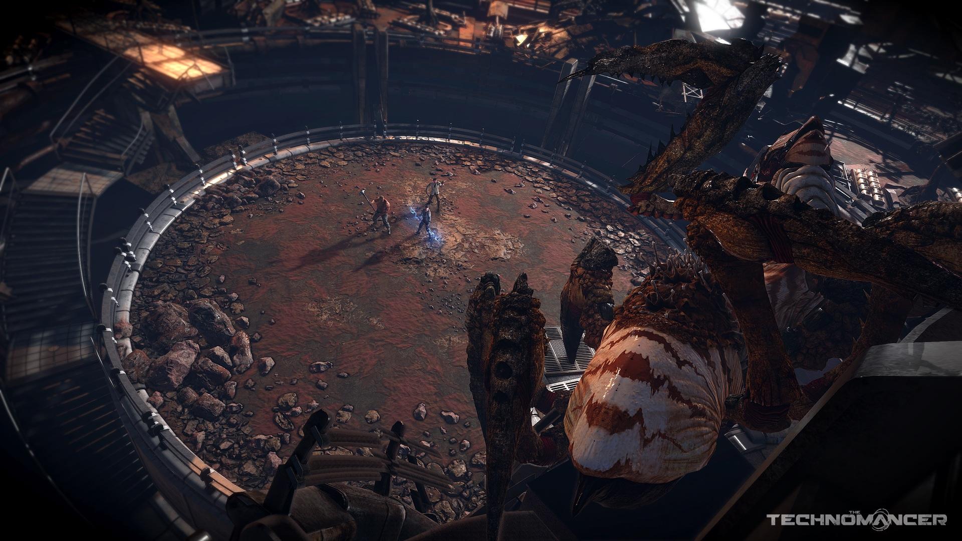 Nové obrázky ze sci-fi RPG titulu The Technomancer 112046