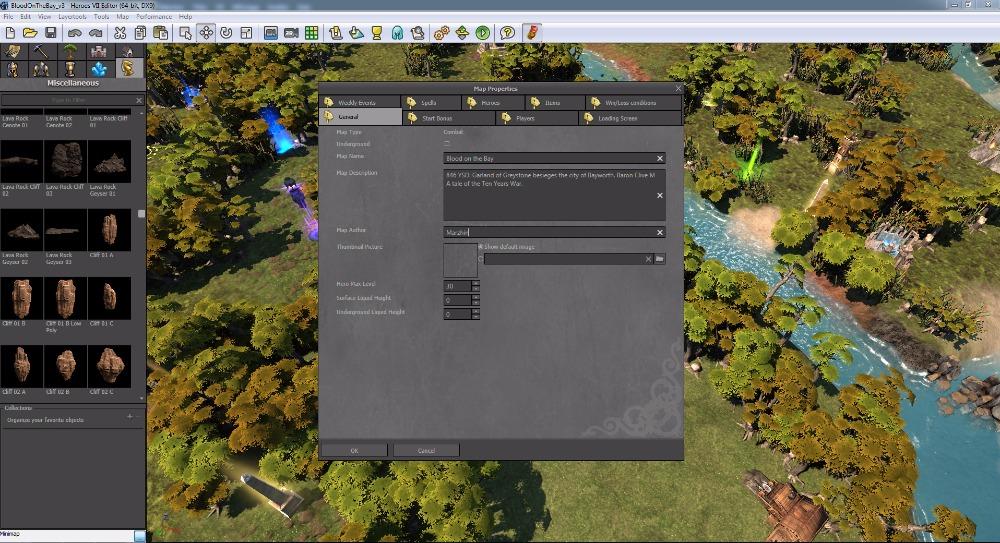 Editor map pro Heroes 7 s podporou moddingu 112130