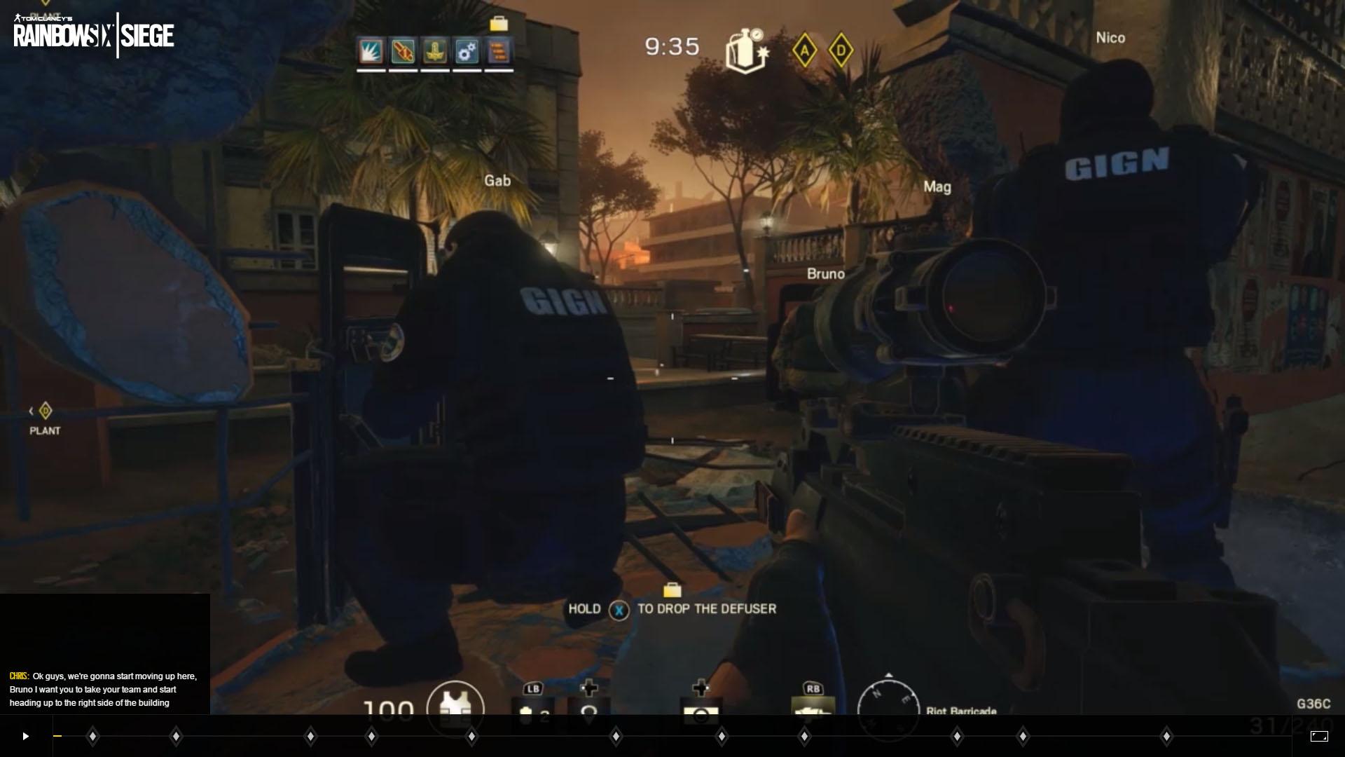 Podívejte se na interaktivní trailer Rainbow Six Siege 112157