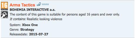 Arma Tactics pravděpodobně zamíří na Xbox One 112168