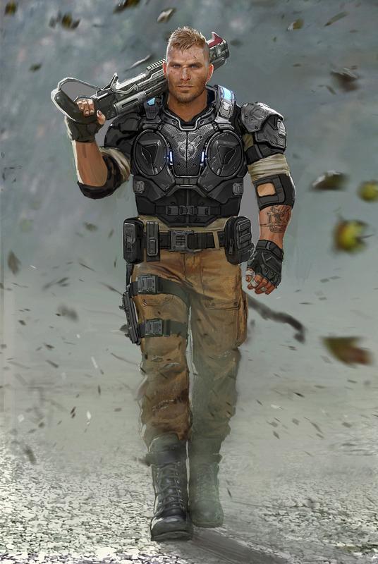 Seznamka s postavami Gears of War 4 112203