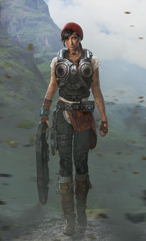 Seznamka s postavami Gears of War 4 112204