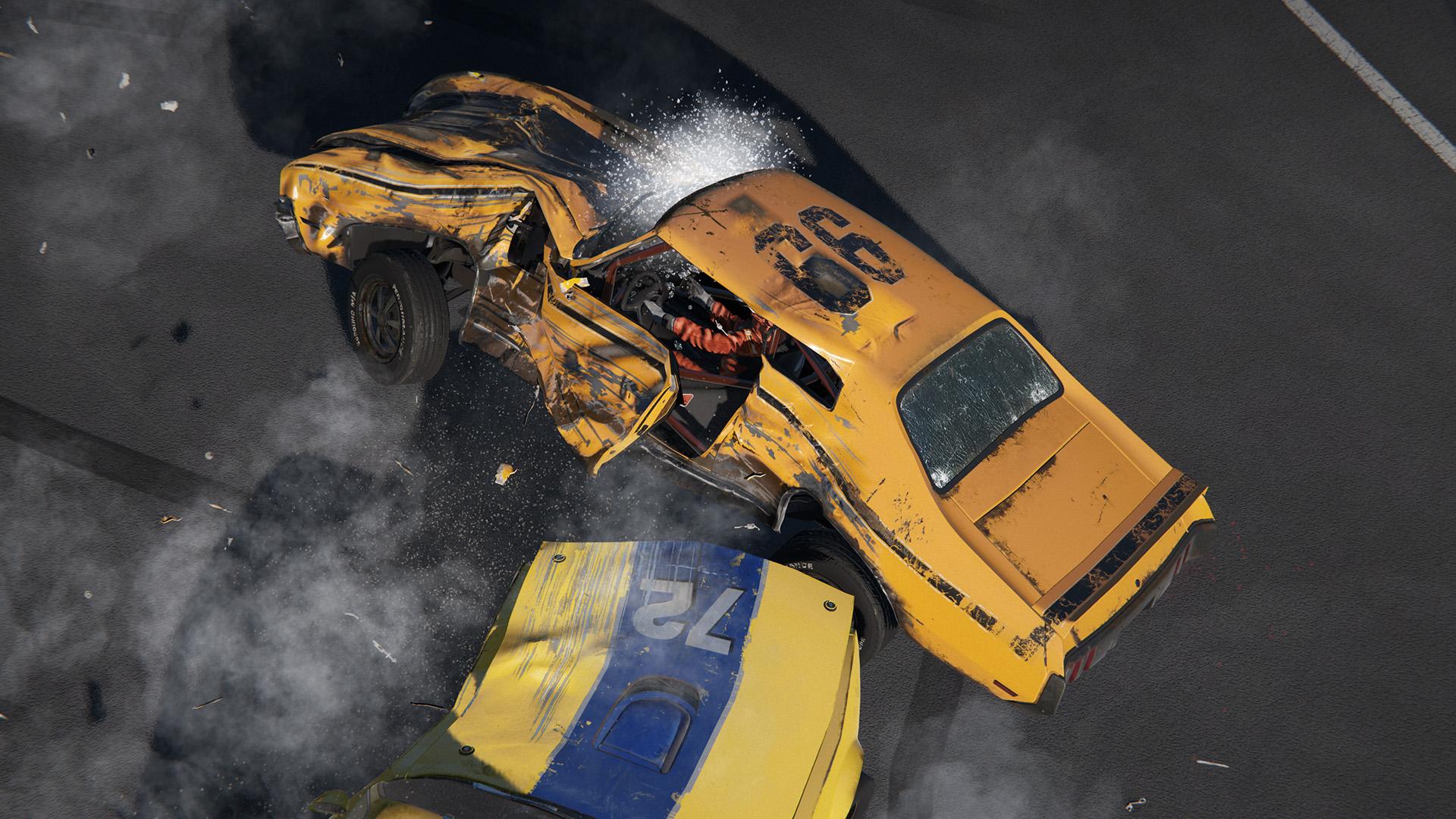 Závody Wreckfest běží na novém enginu 112235