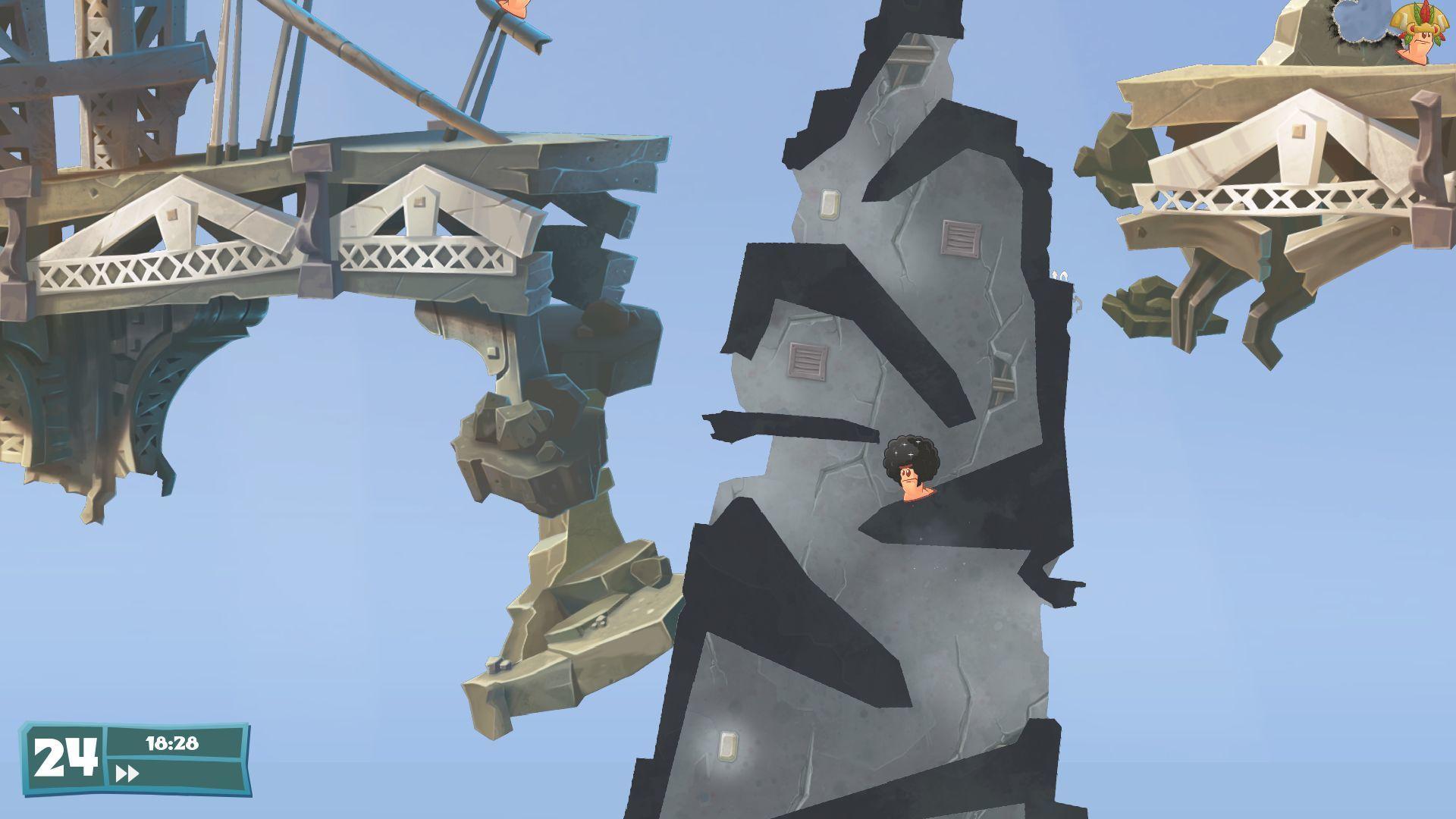 Tanky a budovy lákadlem Worms WMD 112325