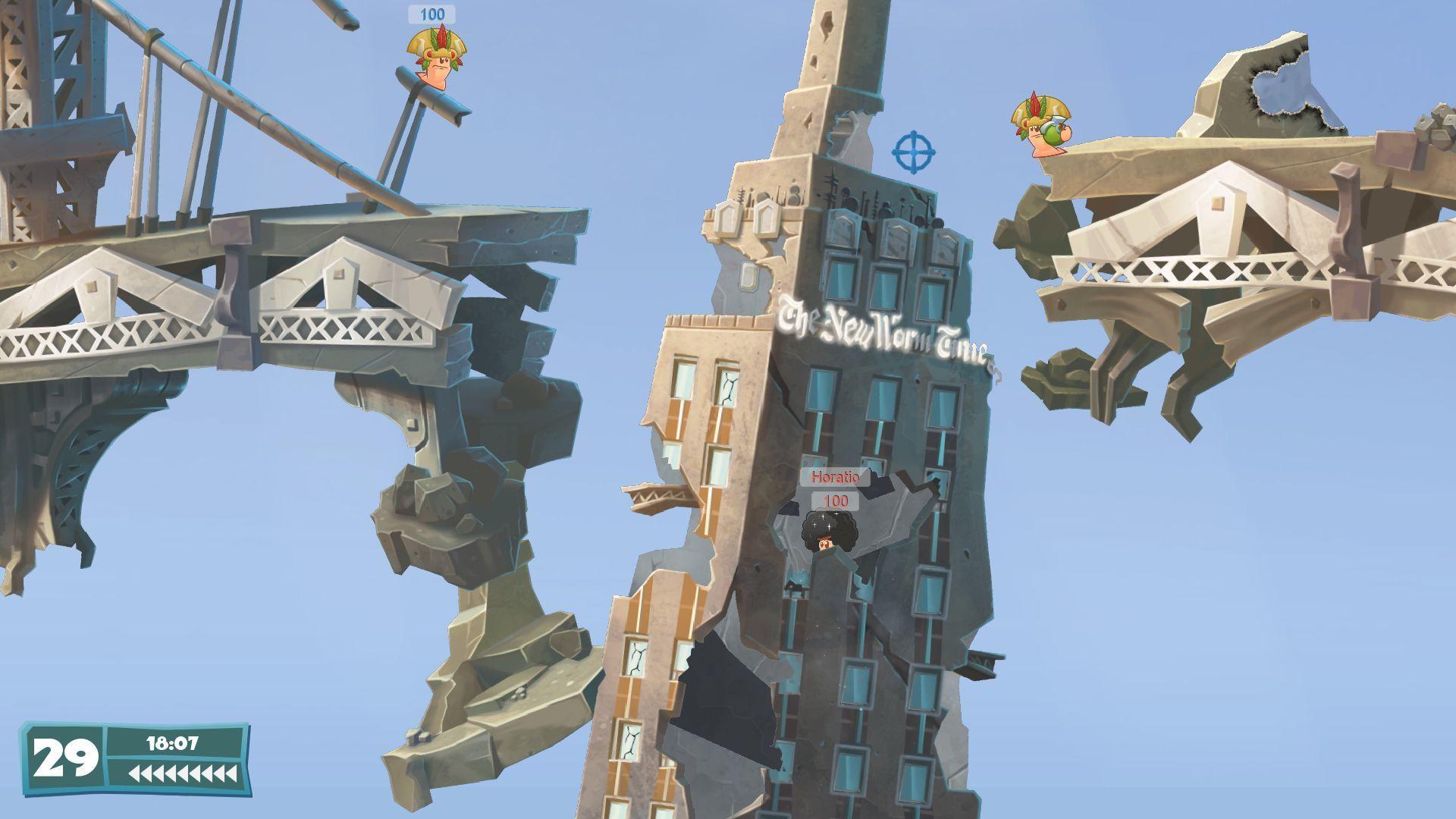 Tanky a budovy lákadlem Worms WMD 112326