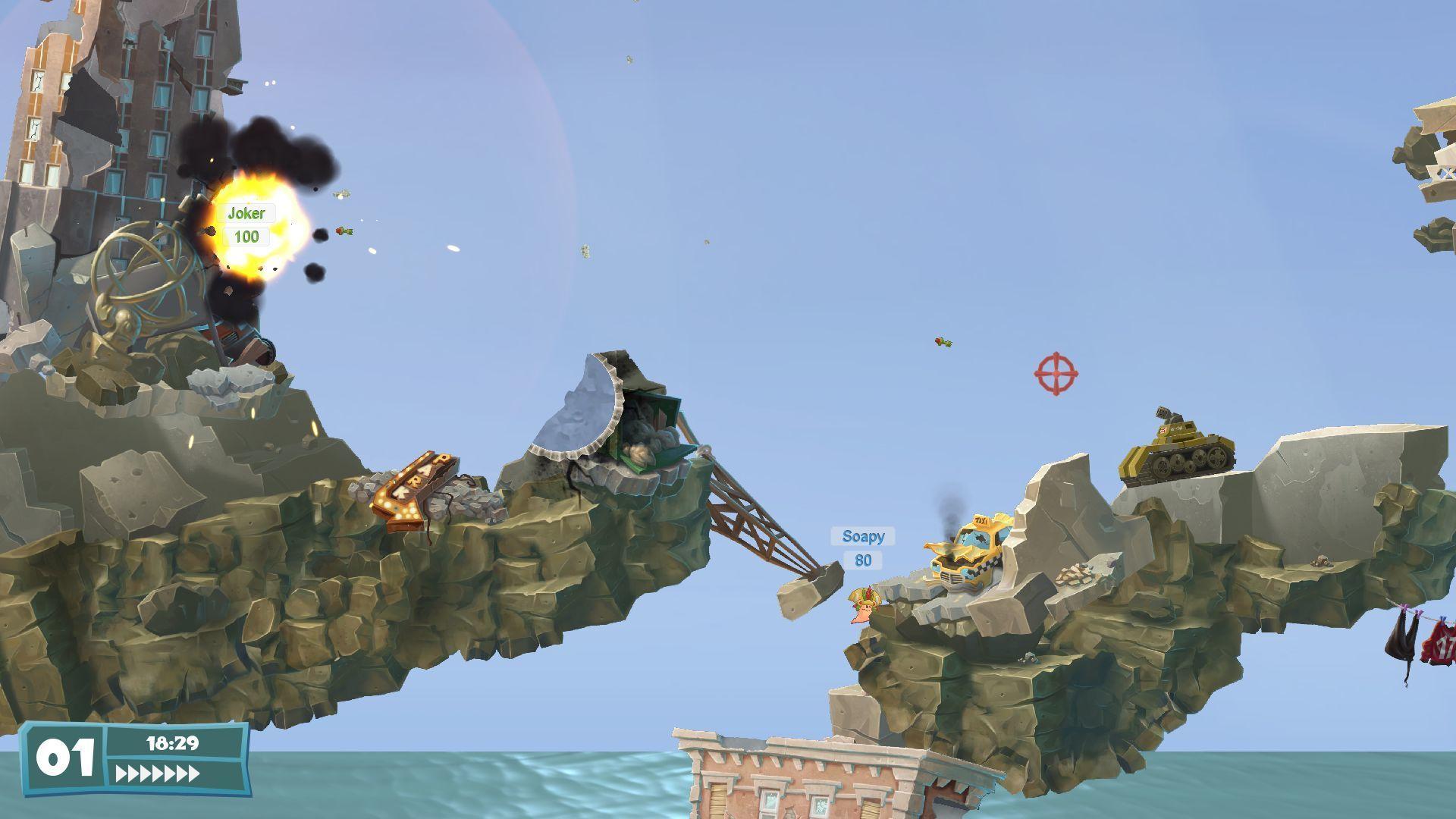 Tanky a budovy lákadlem Worms WMD 112329