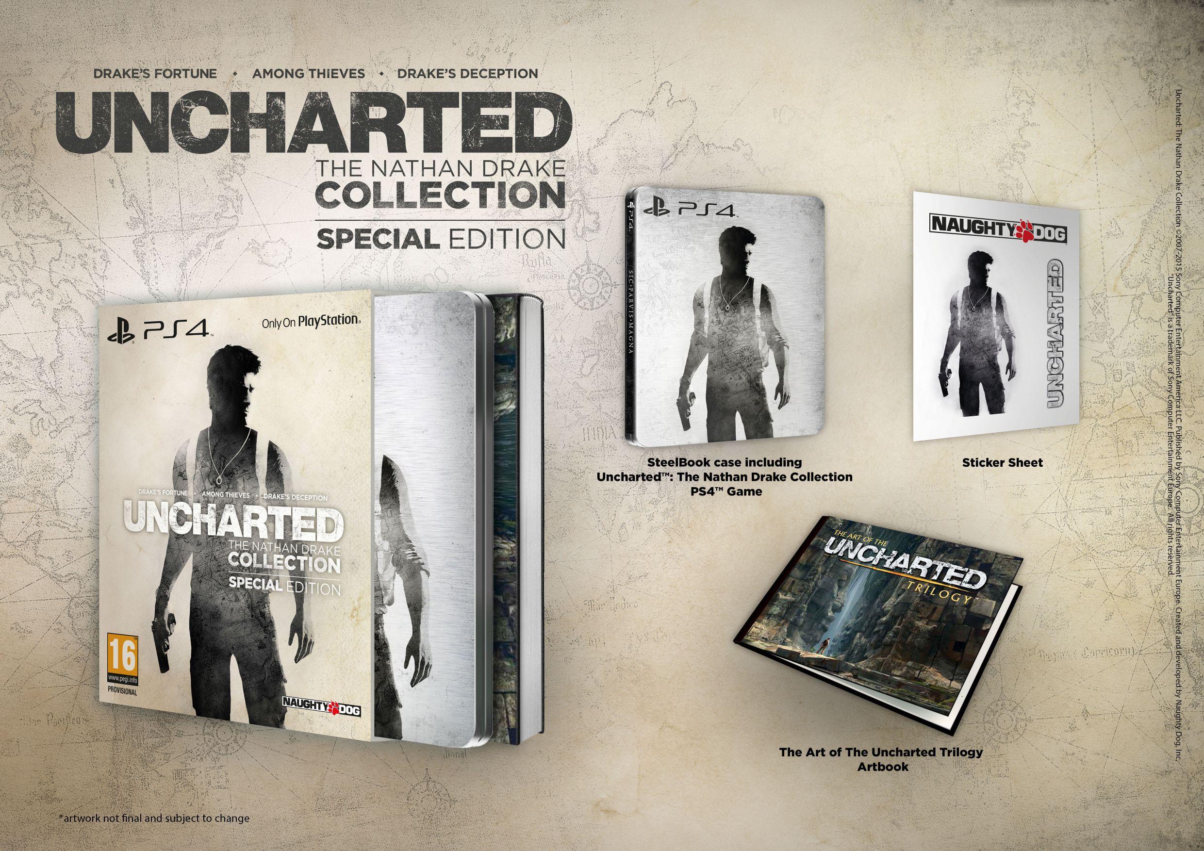 Představena speciální edice kolekce Uncharted 112373