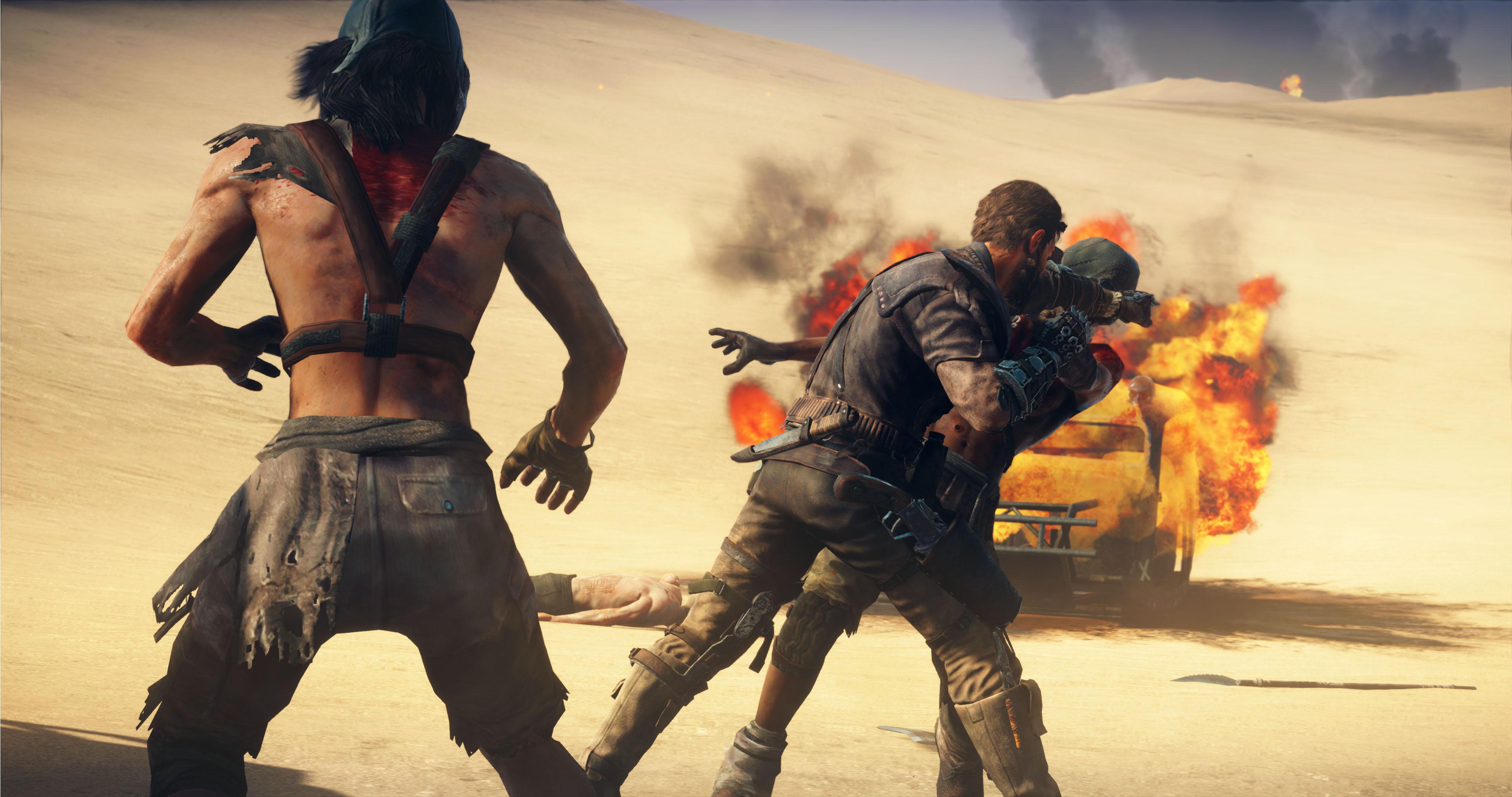 Mad Max - post-apokalyptické pískoviště 112436