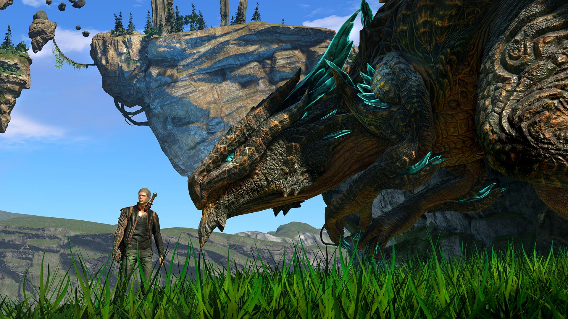 První ukázka z dračího Scalebound 112454