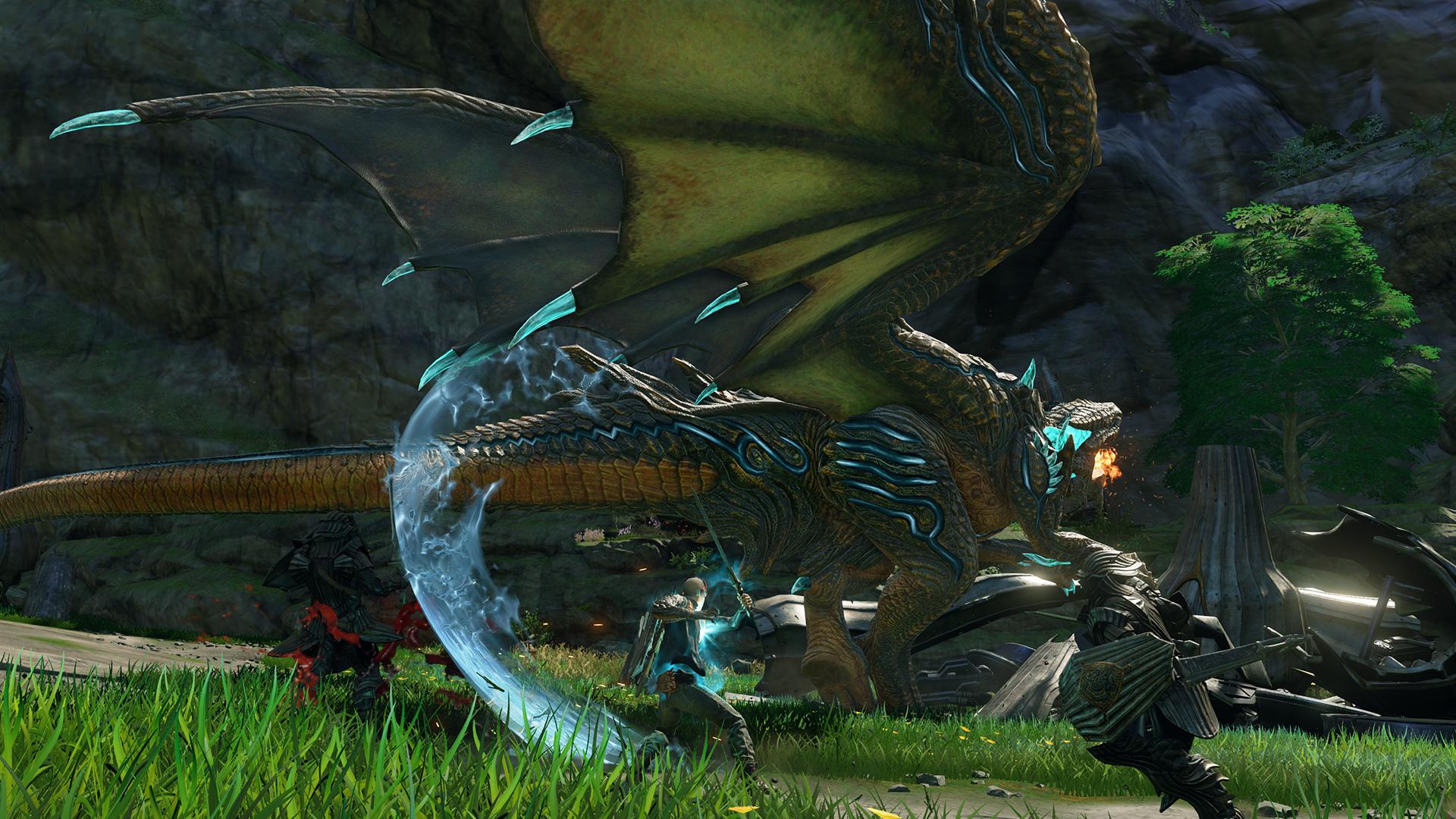 První ukázka z dračího Scalebound 112455