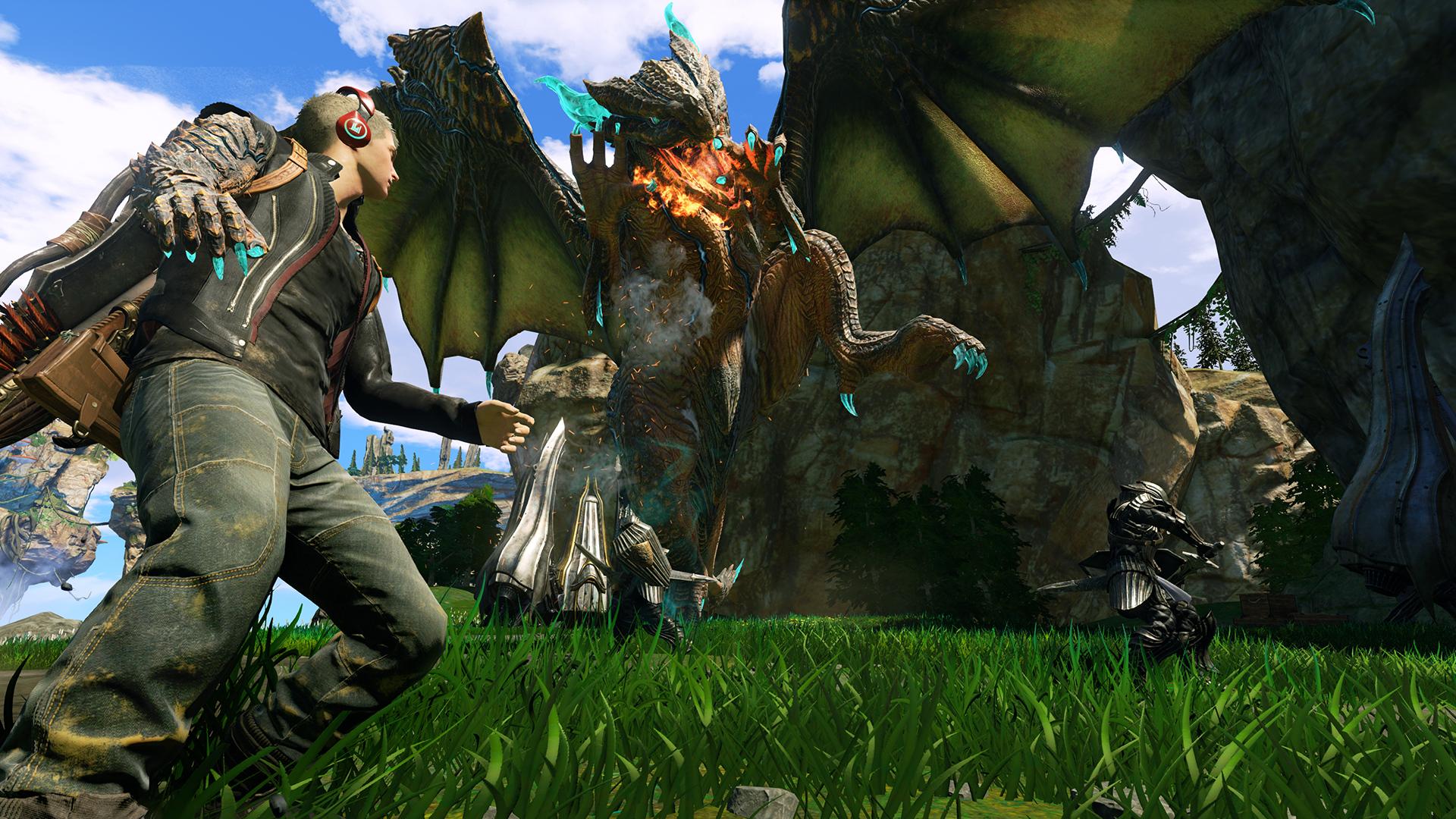 První ukázka z dračího Scalebound 112456