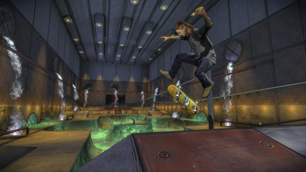 U hry Tony Hawk's Pro Skater 5 se změnila grafika 112654