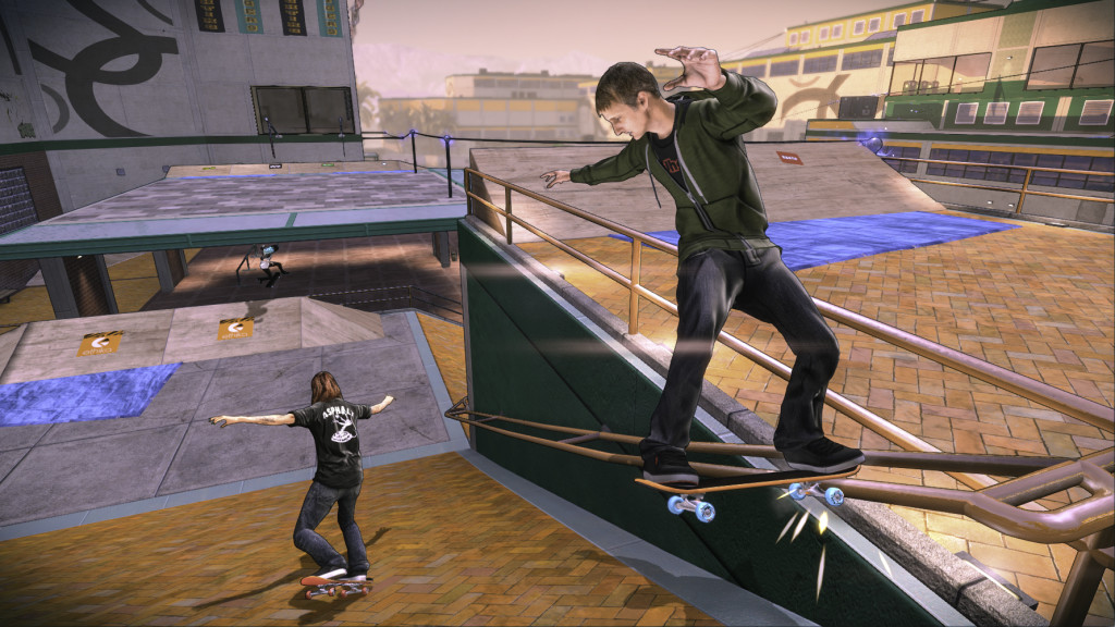 U hry Tony Hawk's Pro Skater 5 se změnila grafika 112658