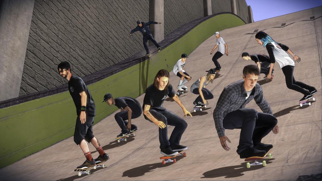 U hry Tony Hawk's Pro Skater 5 se změnila grafika 112659