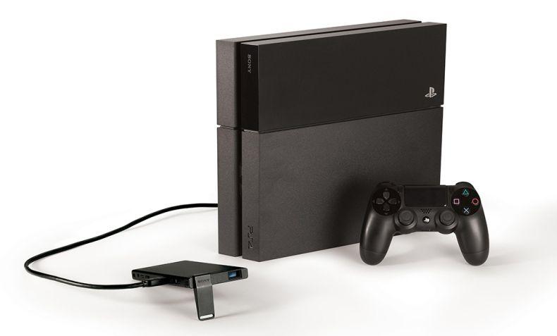 Sony představila mobilní projektor pro PS4 112705