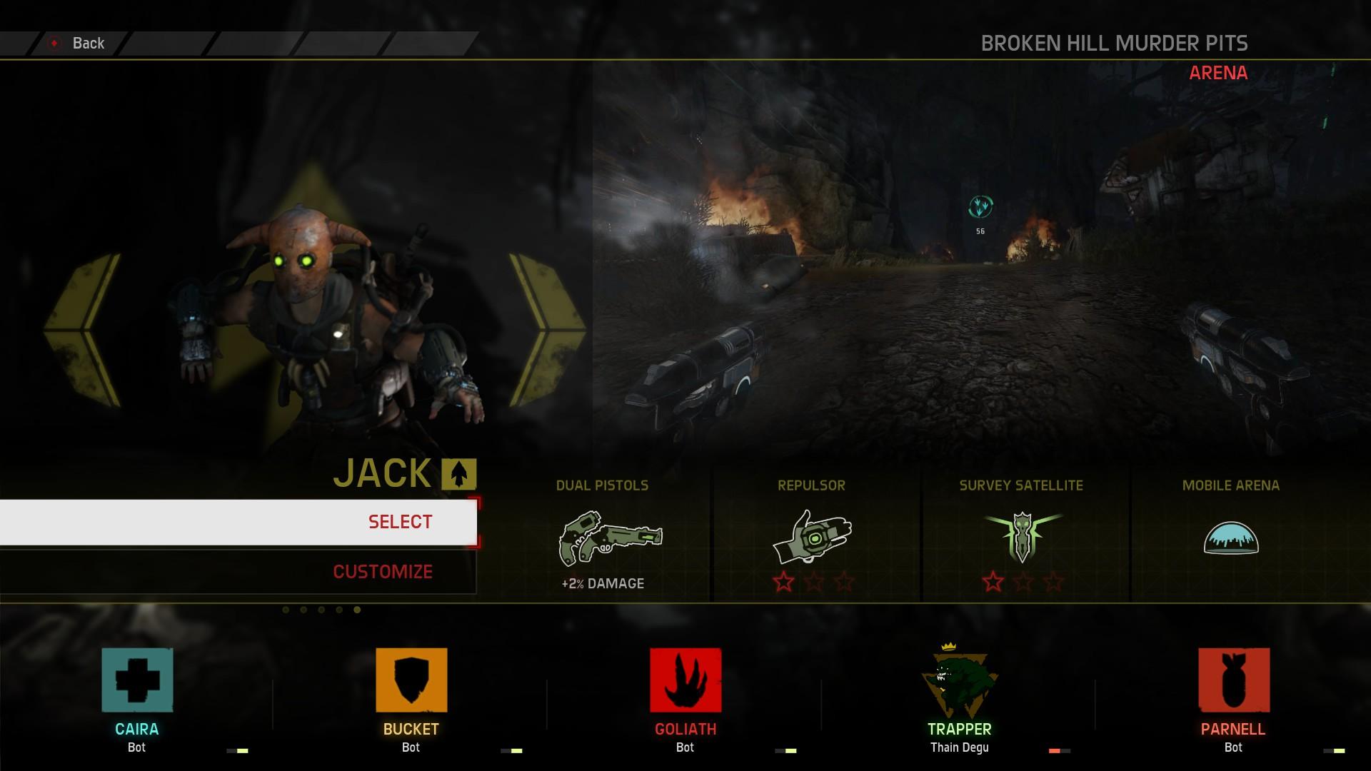Magor Jack míří spolu s novou mapou do Evolve 112908