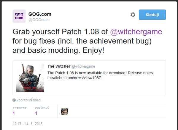 Vychází New Game+ pro Zaklínače 3, podpora DirectX 12 není vyloučená 112911