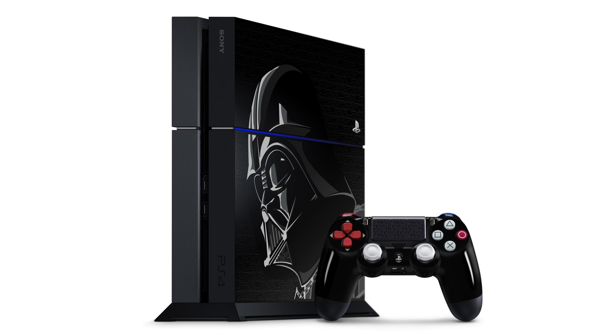 Představena limitovaná edice PlayStationu 4 s motivem Star Wars 112956