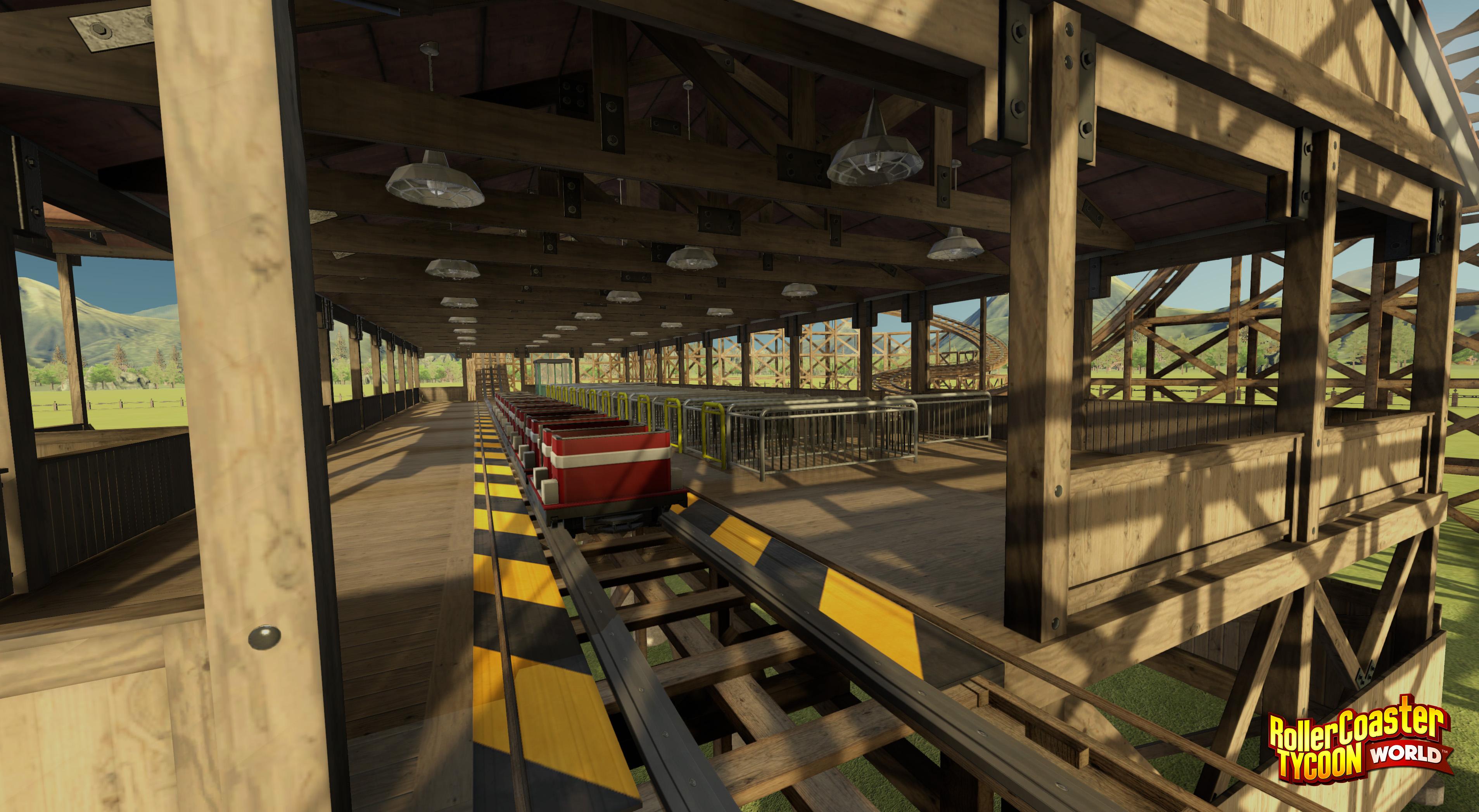 RollerCoaster Tycoon World ukazuje atrakce 112959