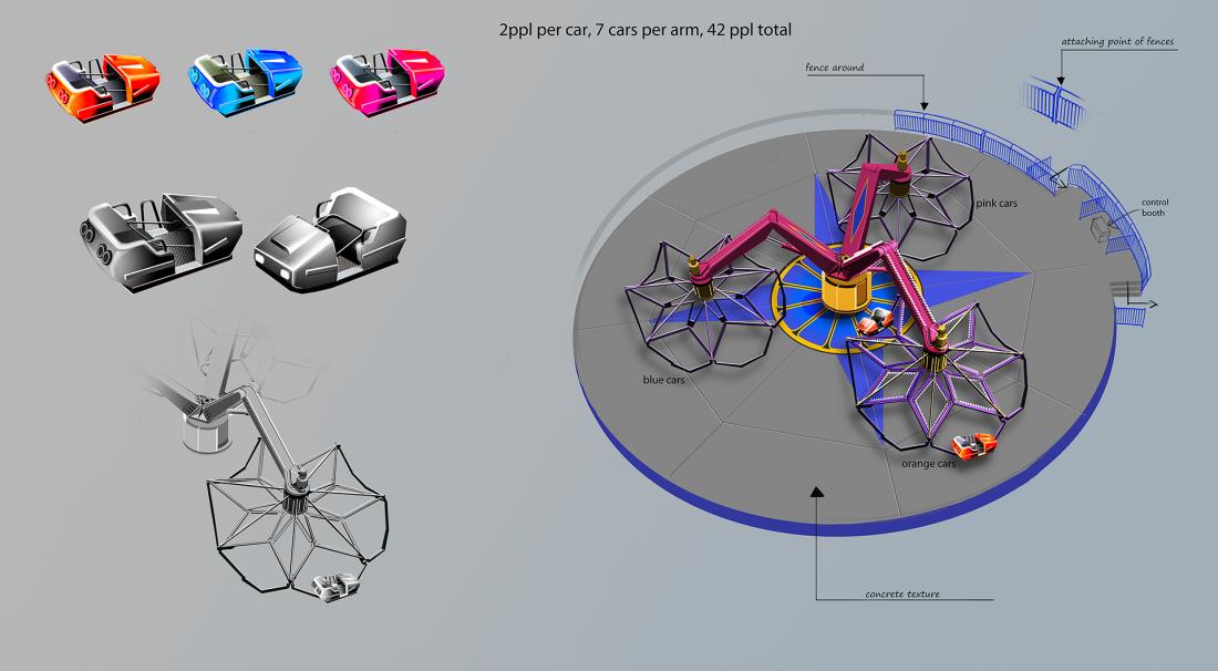RollerCoaster Tycoon World ukazuje atrakce 112961