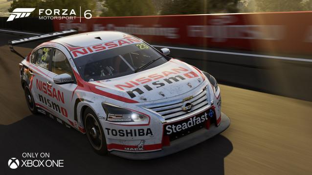 Forza 6 se pyšní licencí V8 Supercar 113270