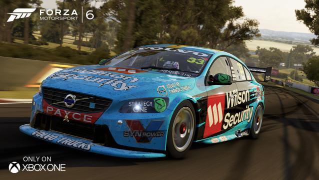 Forza 6 se pyšní licencí V8 Supercar 113271