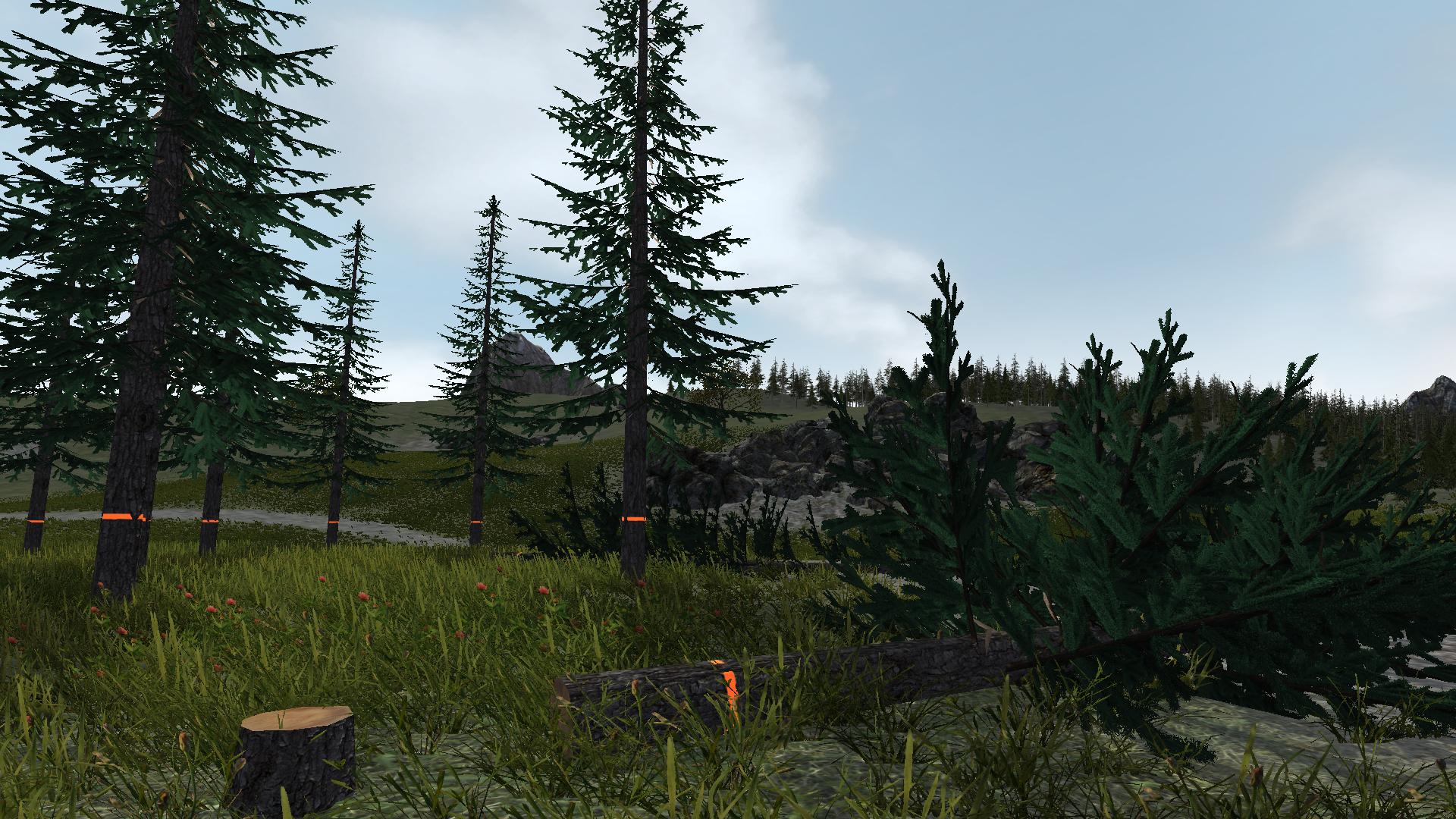 Staňte se profesionálním dřevorubcem v novém simulátoru 113279