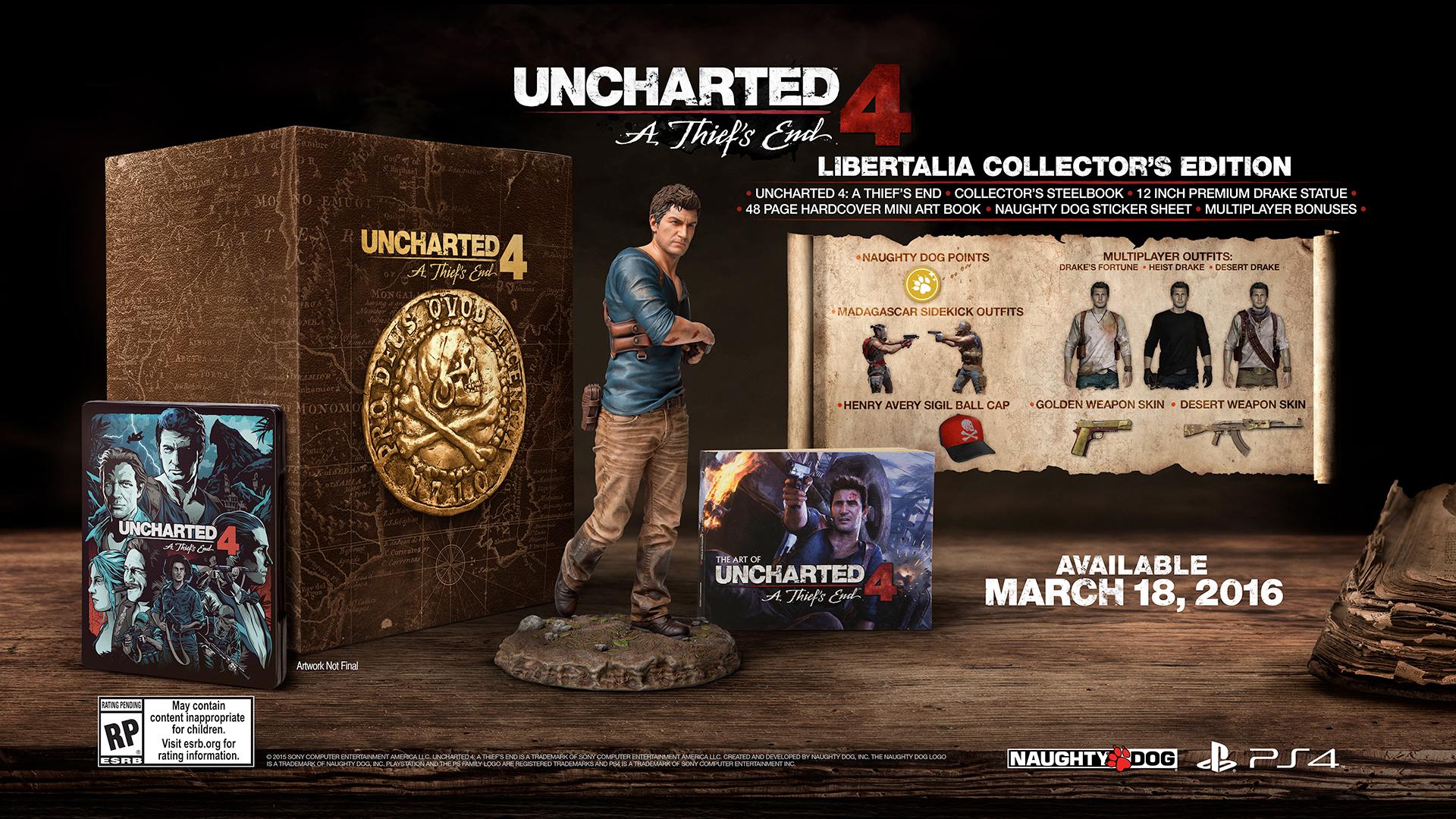 Sony nečekaně pokrátila kusy sběratelských edic Uncharted 4 pro náš trh 113459