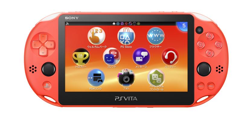 Nové barevné varianty PlayStation Vita 113497