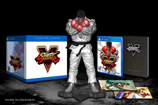 Sběratelská edice Street Fighter 5 se sochou Ryua 113523