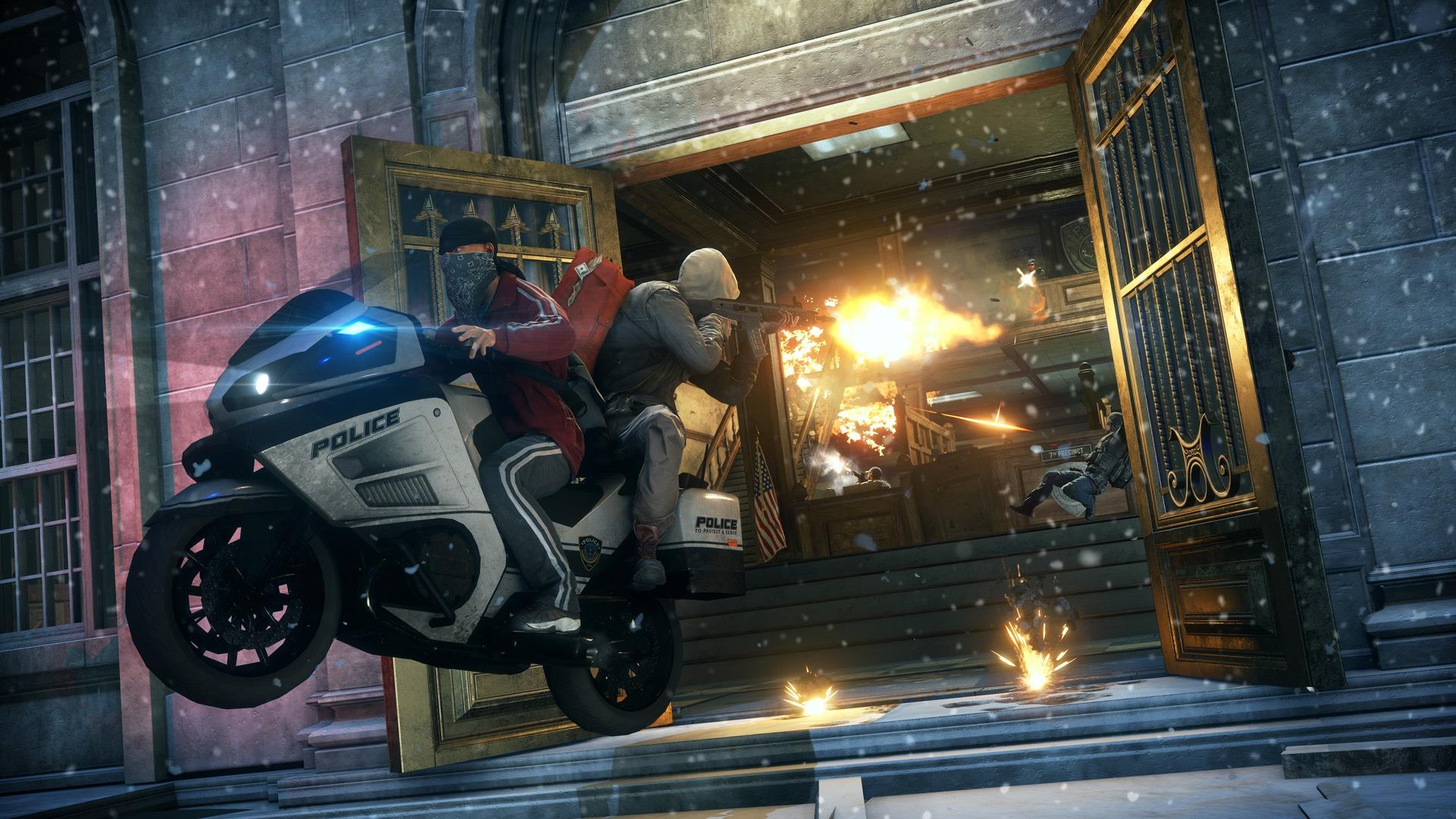 DLC Robbery přinese do Battlefield: Hardline zasněžené předměstí 113629