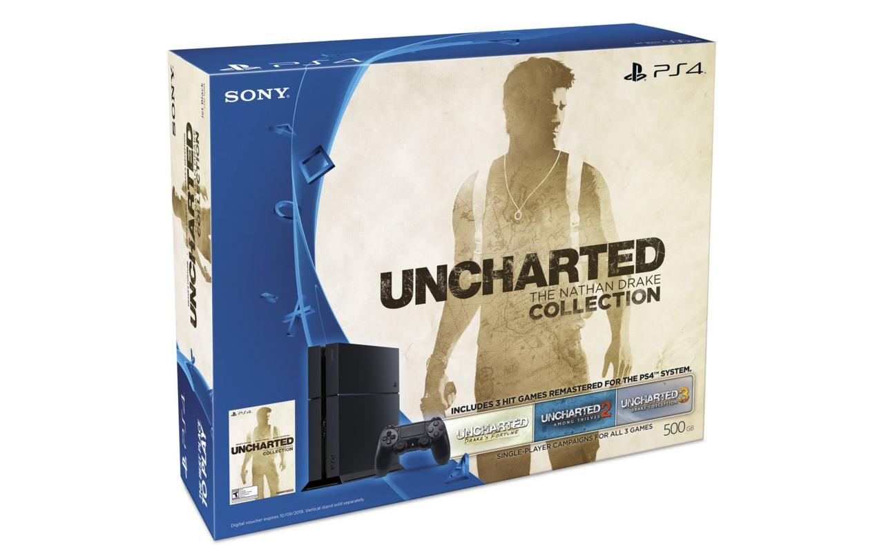 PS4 bundl s Uncharted: The Nathan Drake Collection 113683