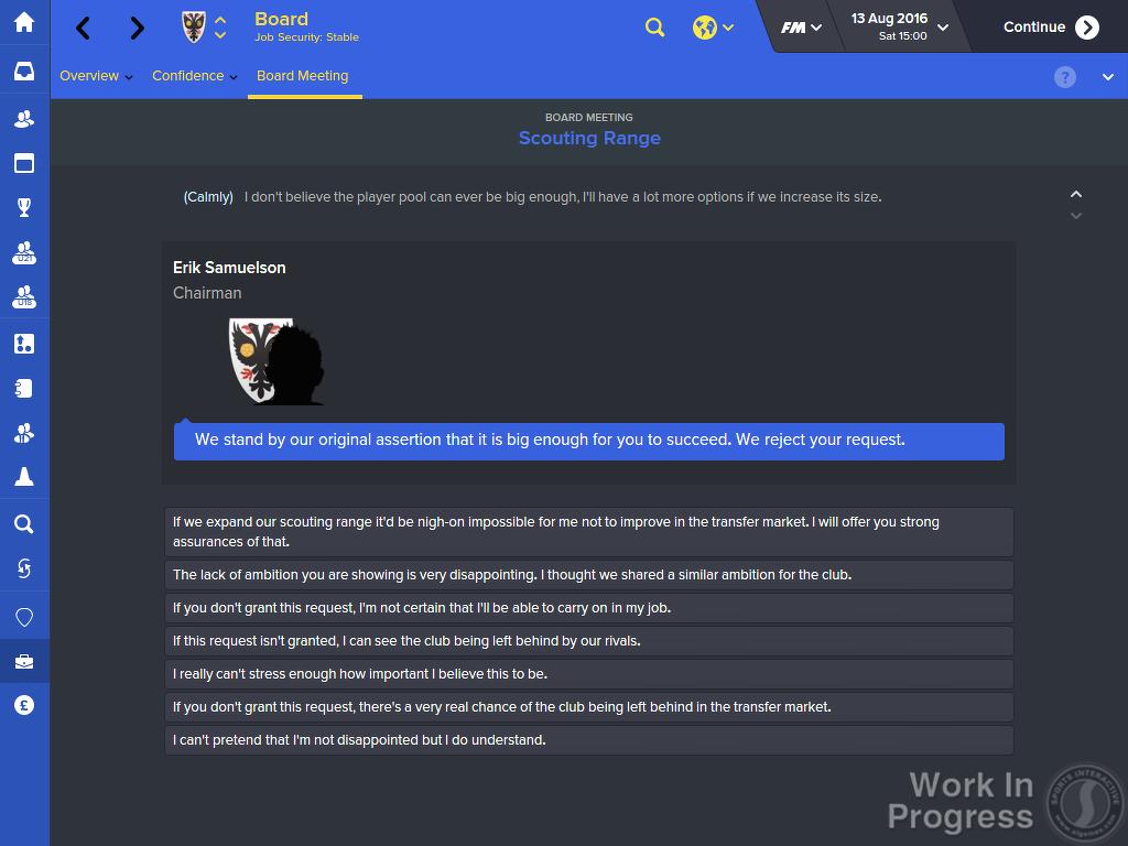 Football Manager 2016 s menšími novinkami 113764