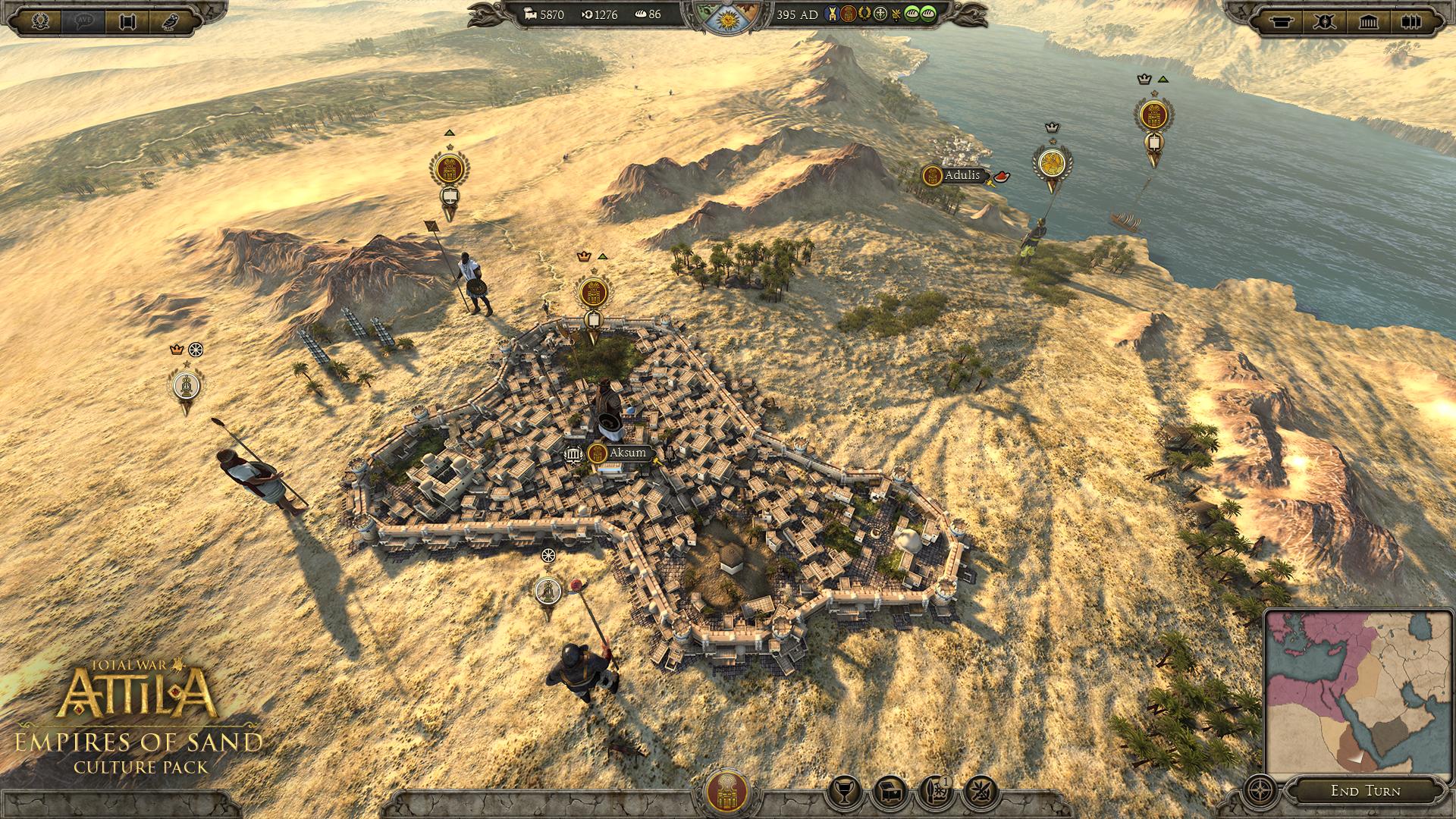 V Total War: Attila si zahrajete za Aksumské království 113789
