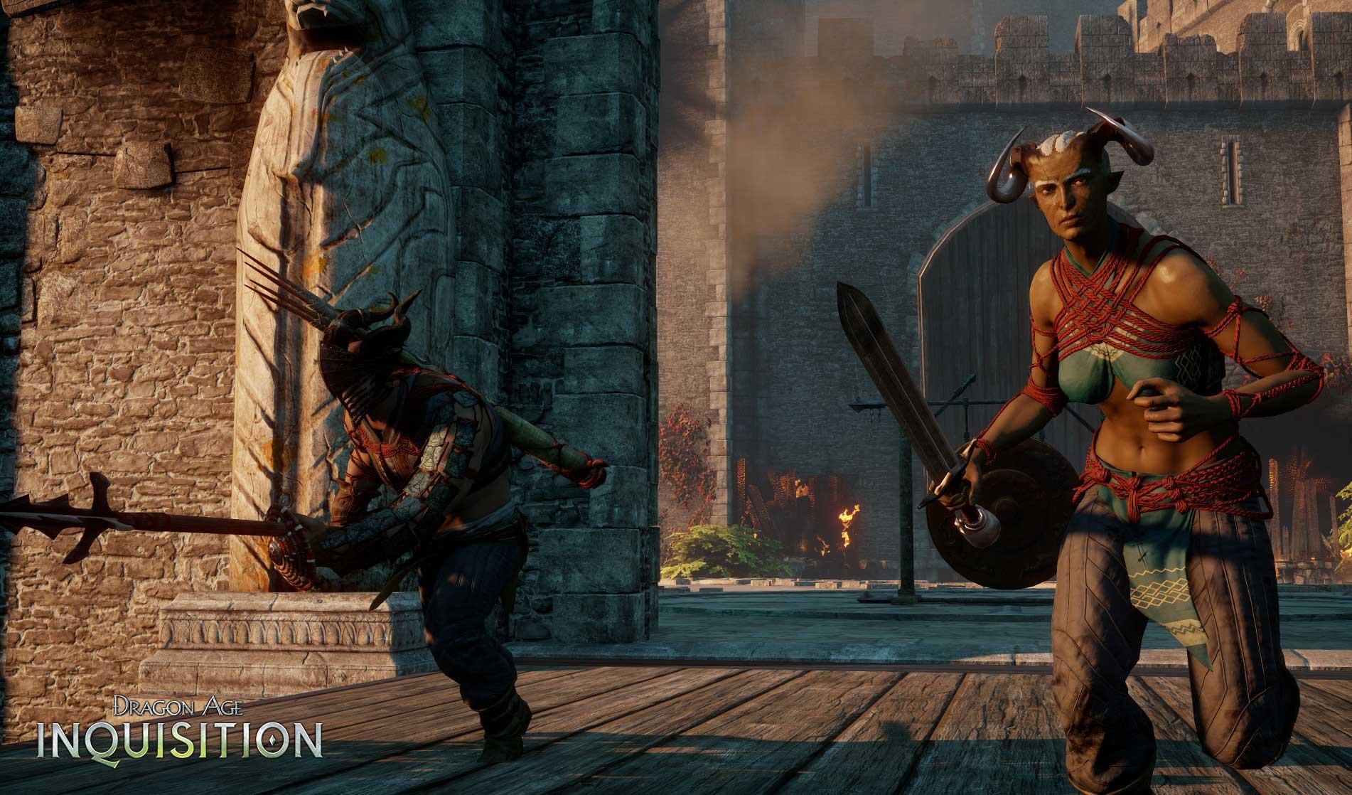 Do multiplayeru Dragon Age: Inquisition dorazila rasa Qunari 113993